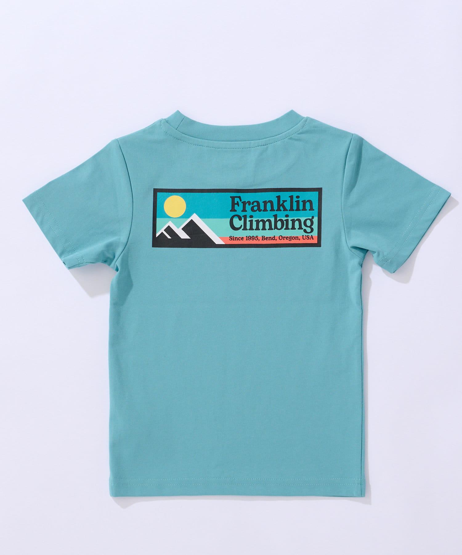 CIAOPANIC TYPY(チャオパニックティピー) 【Franklin Climbing】KID's ロゴTEE