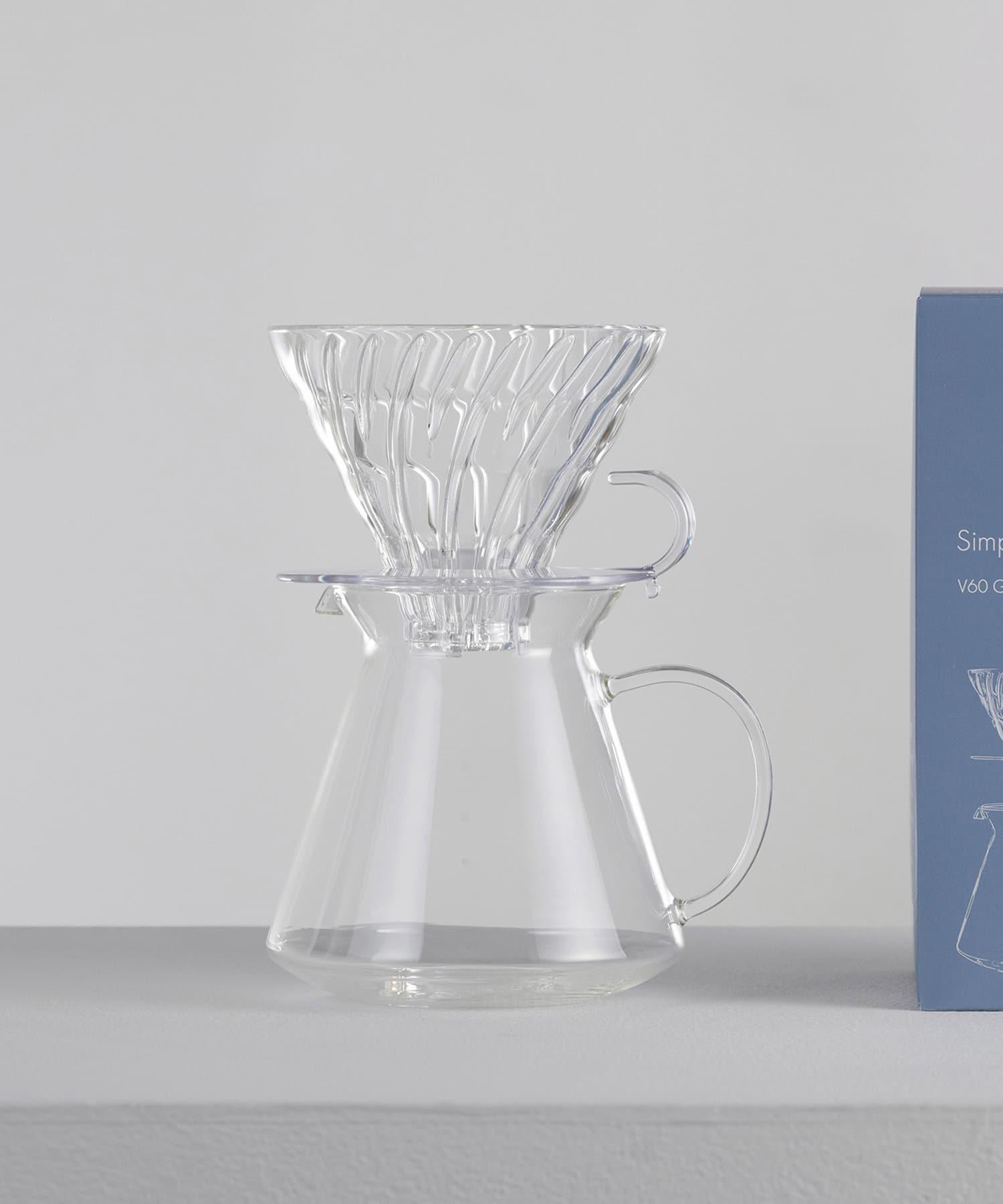 CIAOPANIC TYPY(チャオパニックティピー) ライフスタイル 【HARIO/ハリオ】V60ガラス醸造キット600ml クリア
