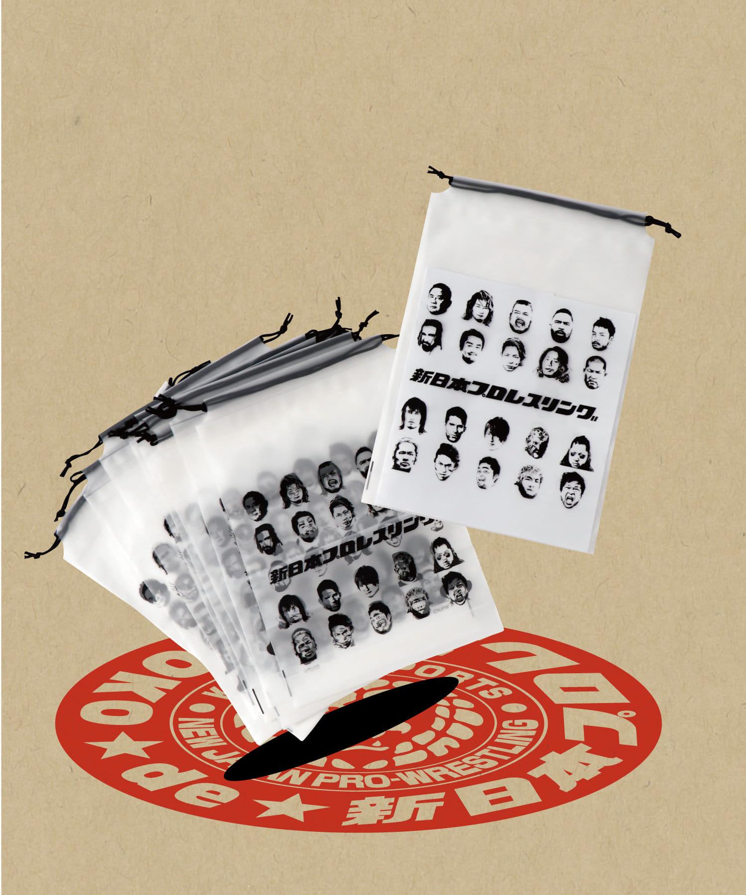 ASOKO(アソコ) ASOKO(アソコ) 【ASOKO de 新日本プロレス】ビニール巾着10枚セット その他