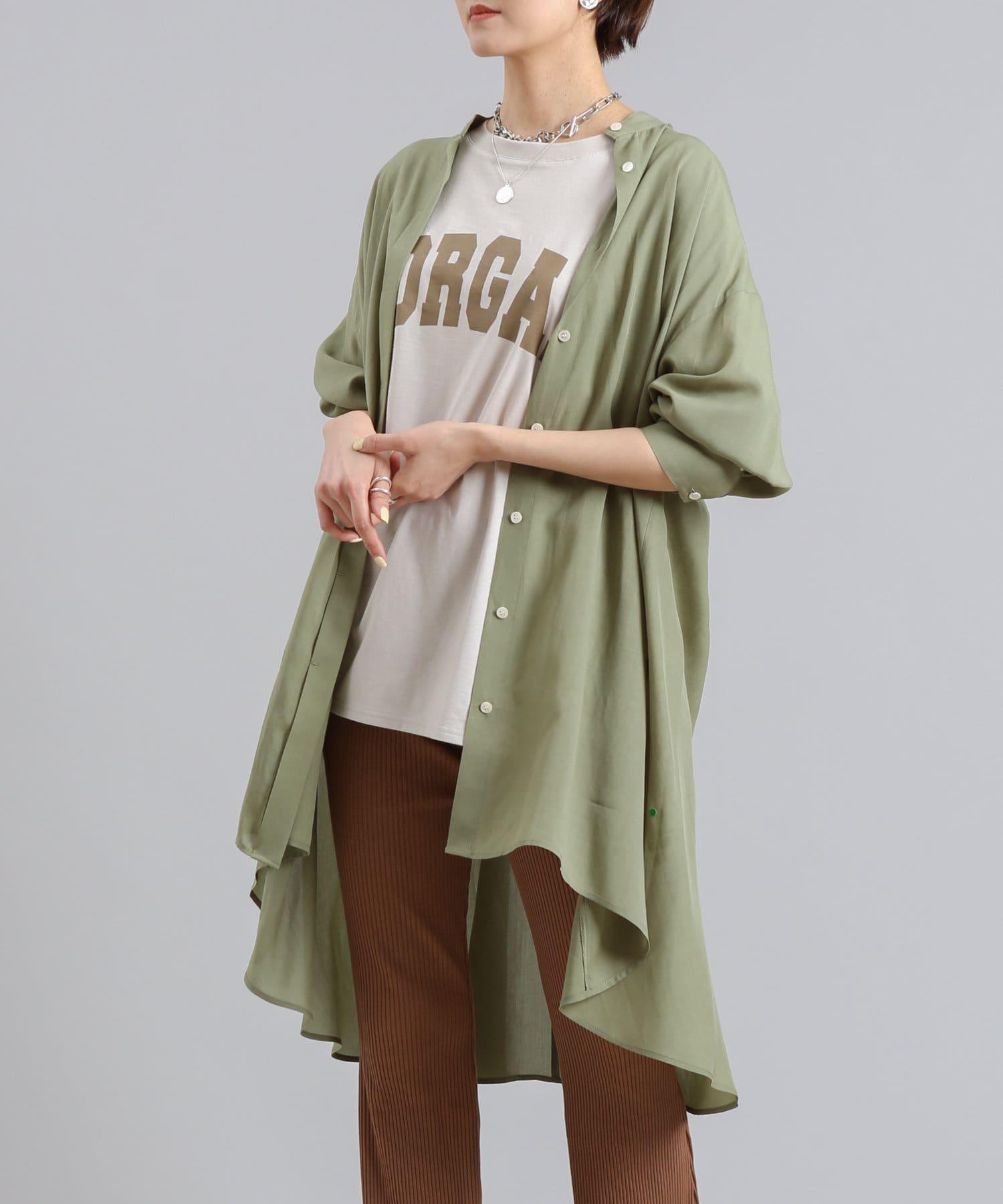 DOUDOU(ドゥドゥ) ロングシャツチュニック2