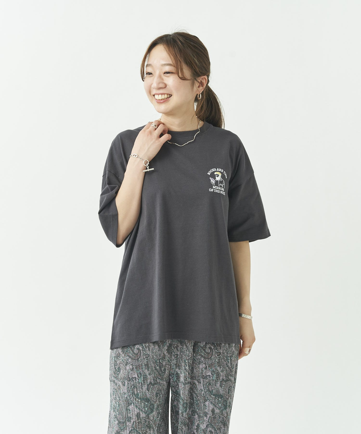 CPCM(シーピーシーエム) ヒゲサガラ刺繍T