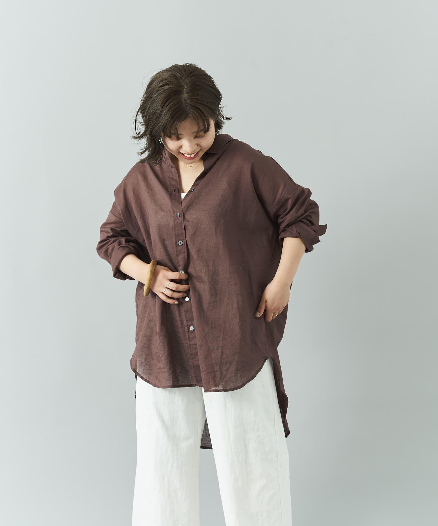 Jena espace merveilleux(ジェナ エスパスメルヴェイユ) メンアサビッグシャツ