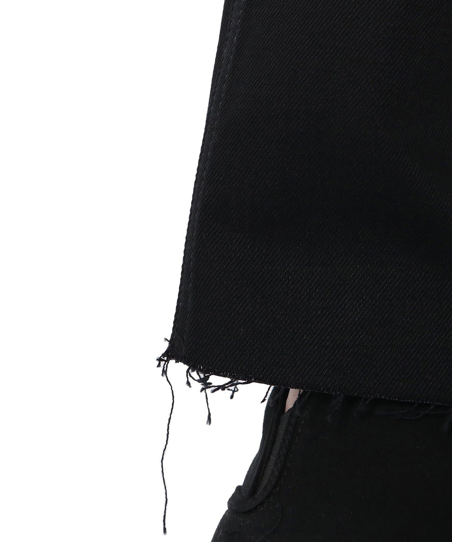 Lui's(ルイス) ブラック フレアデニム