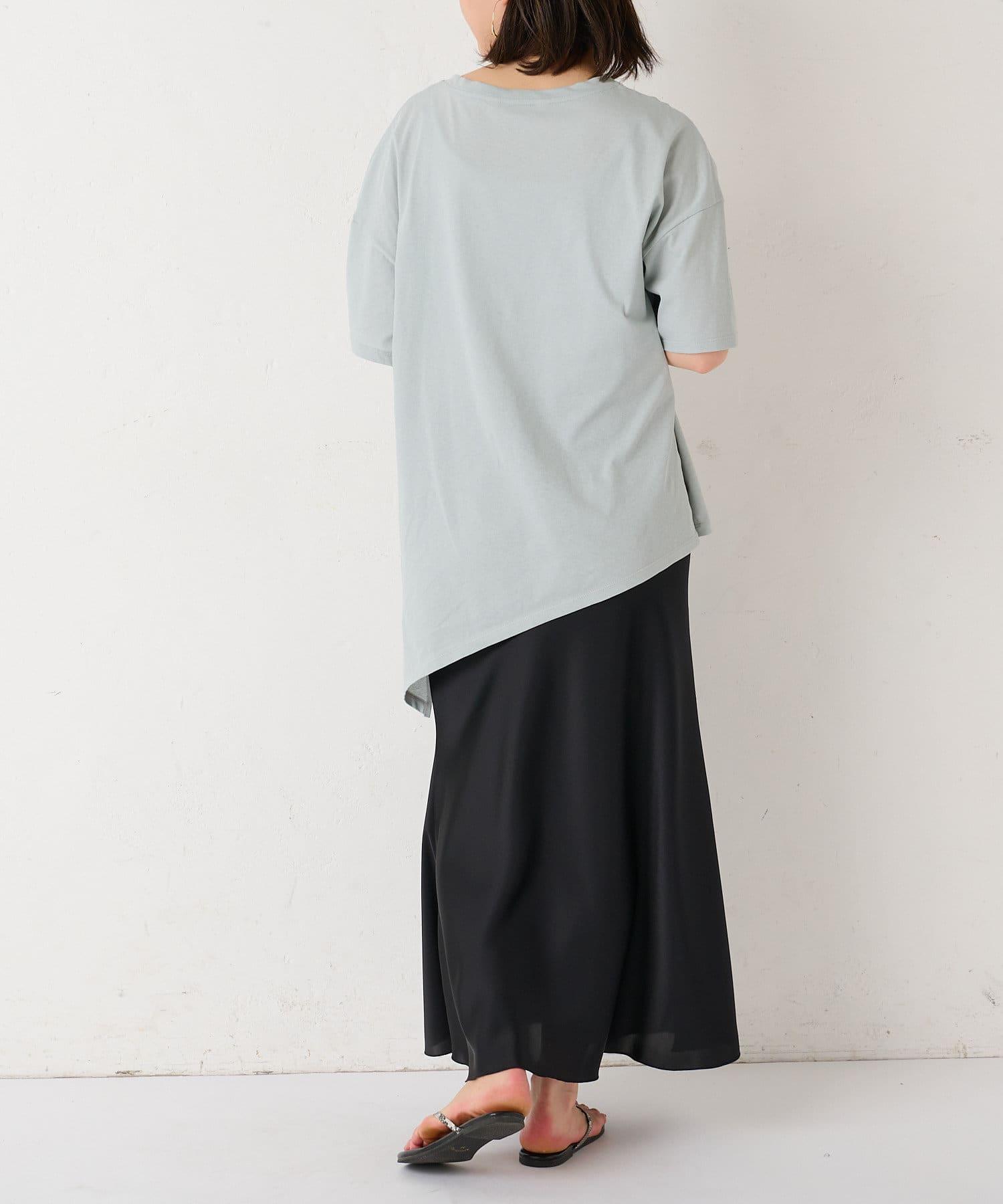 BONbazaar(ボンバザール) サテンバイヤススカート