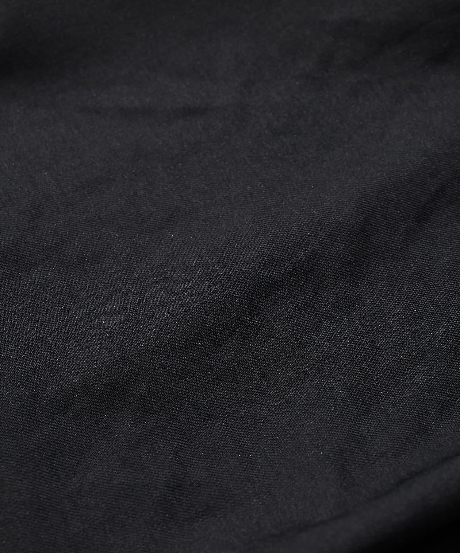 La boutique BonBon(ラブティックボンボン) 【手洗い可】リネンライクドロストワイドパンツ