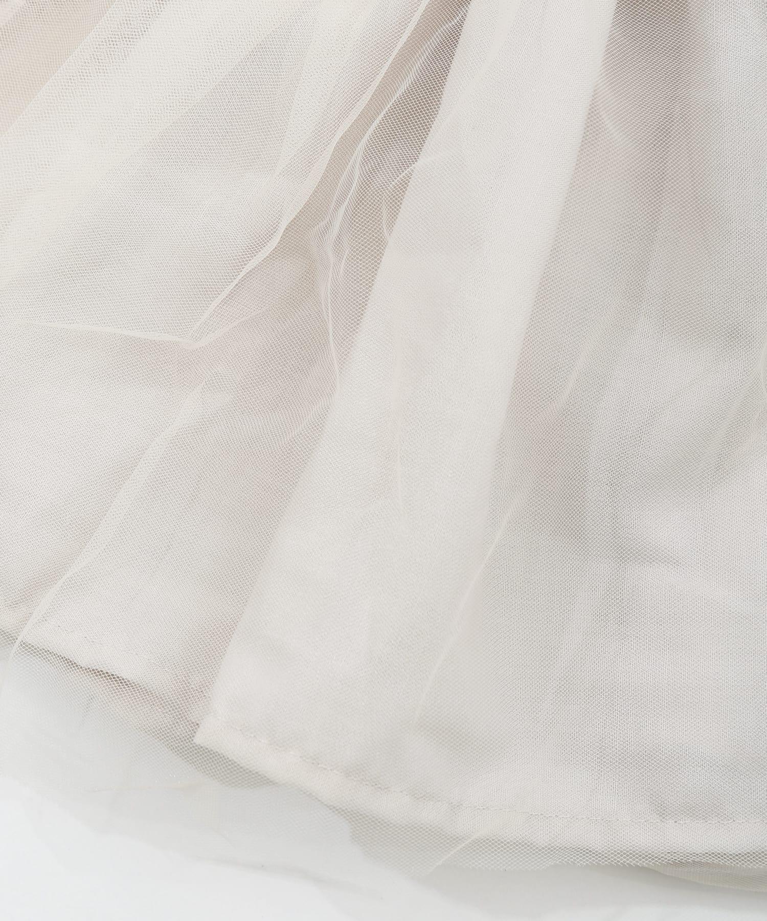3COINS(スリーコインズ) 【おめかし】チュールスカート