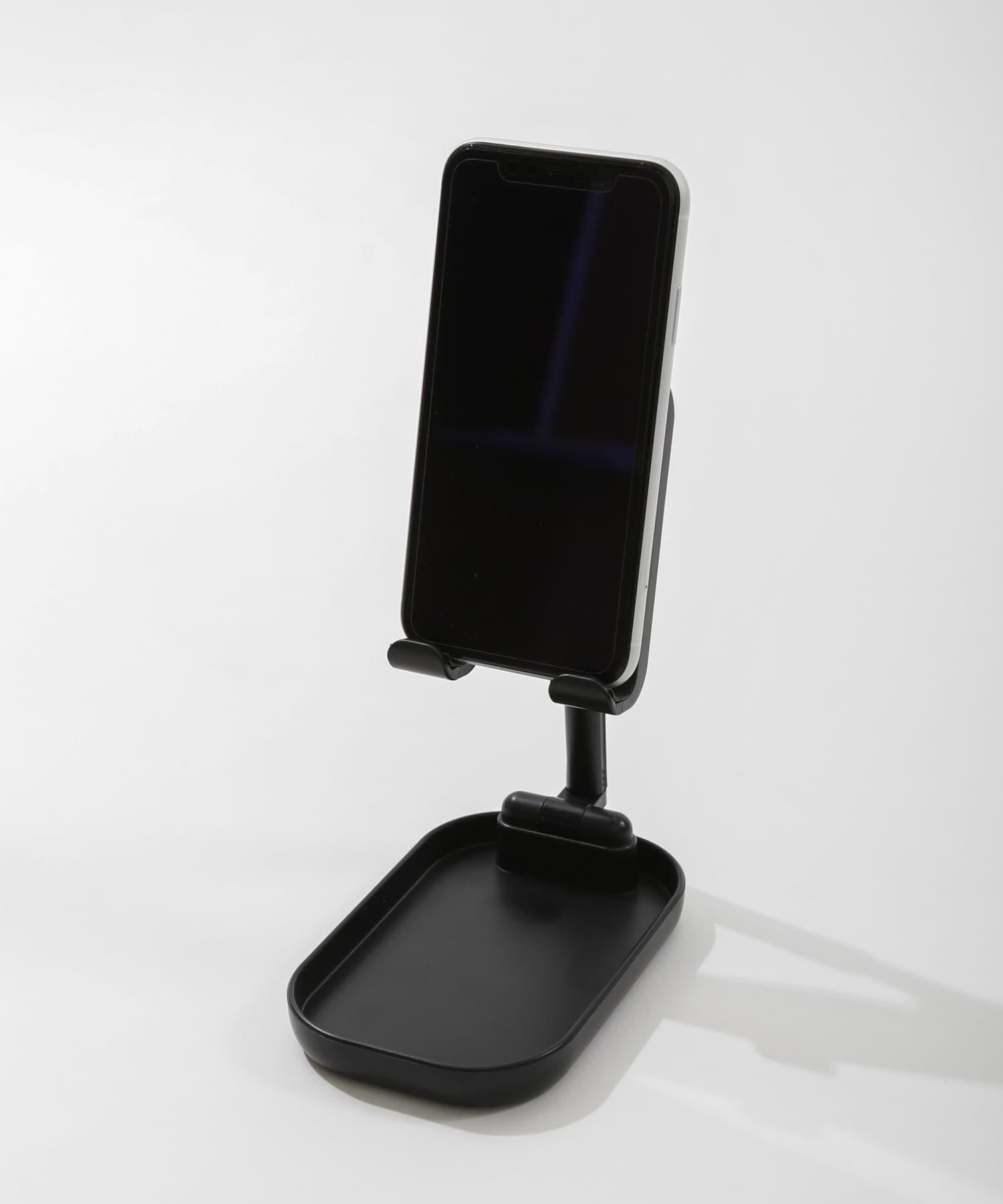 3COINS(スリーコインズ) ライフスタイル 【3COINS DEVICE】スタンド型ワイヤレスチャージャー ブラック