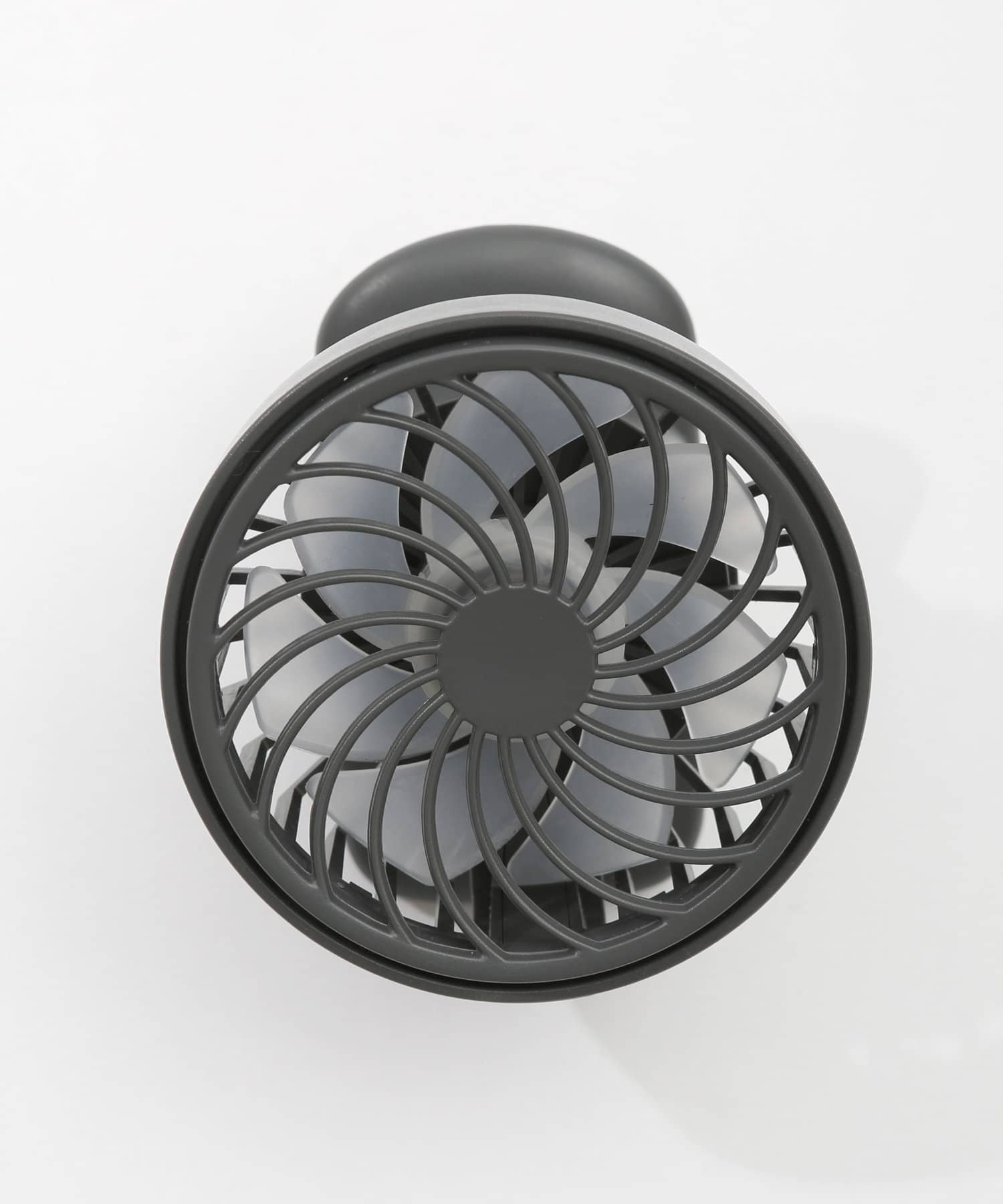 3COINS(スリーコインズ) ライフスタイル 【熱中症対策】充電式ハンズフリークリップファン グレー