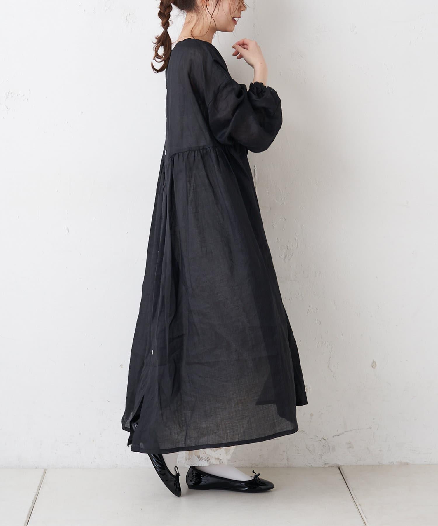 pual ce cin(ピュアルセシン) 【Du noir】ラミーワンピース
