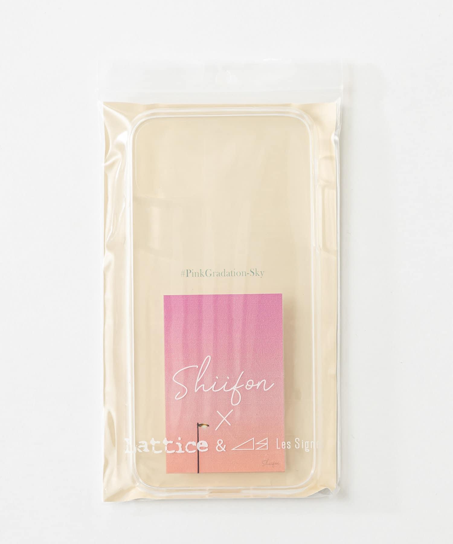 Lattice(ラティス) レディース 《しふぉん×Lattice&Les Signes》スマホケース 11/XR ピンク