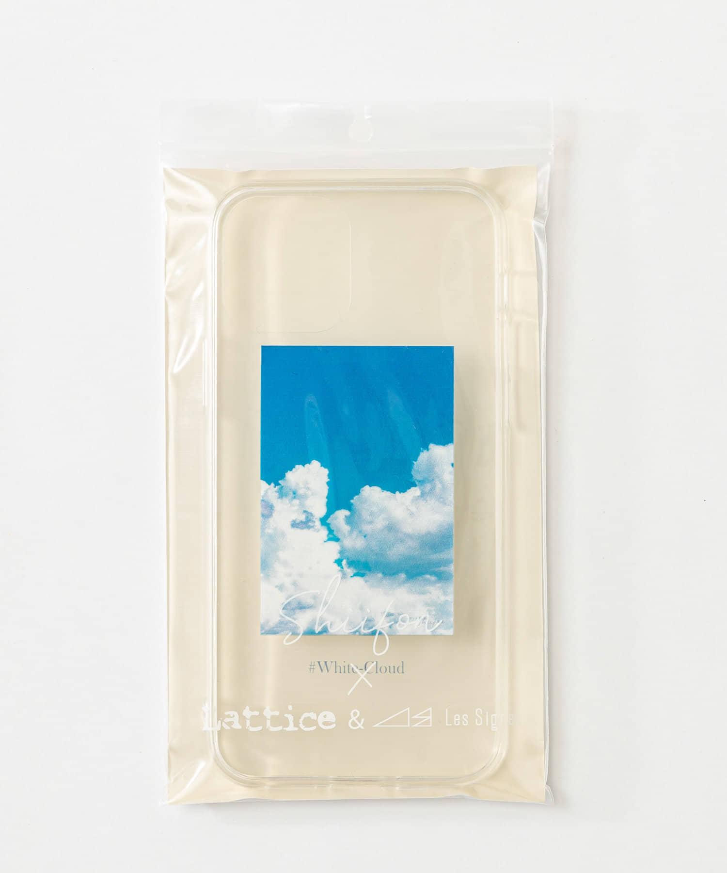 Lattice(ラティス) レディース 《しふぉん×Lattice&Les Signes》スマホケース 12/12pro ブルー