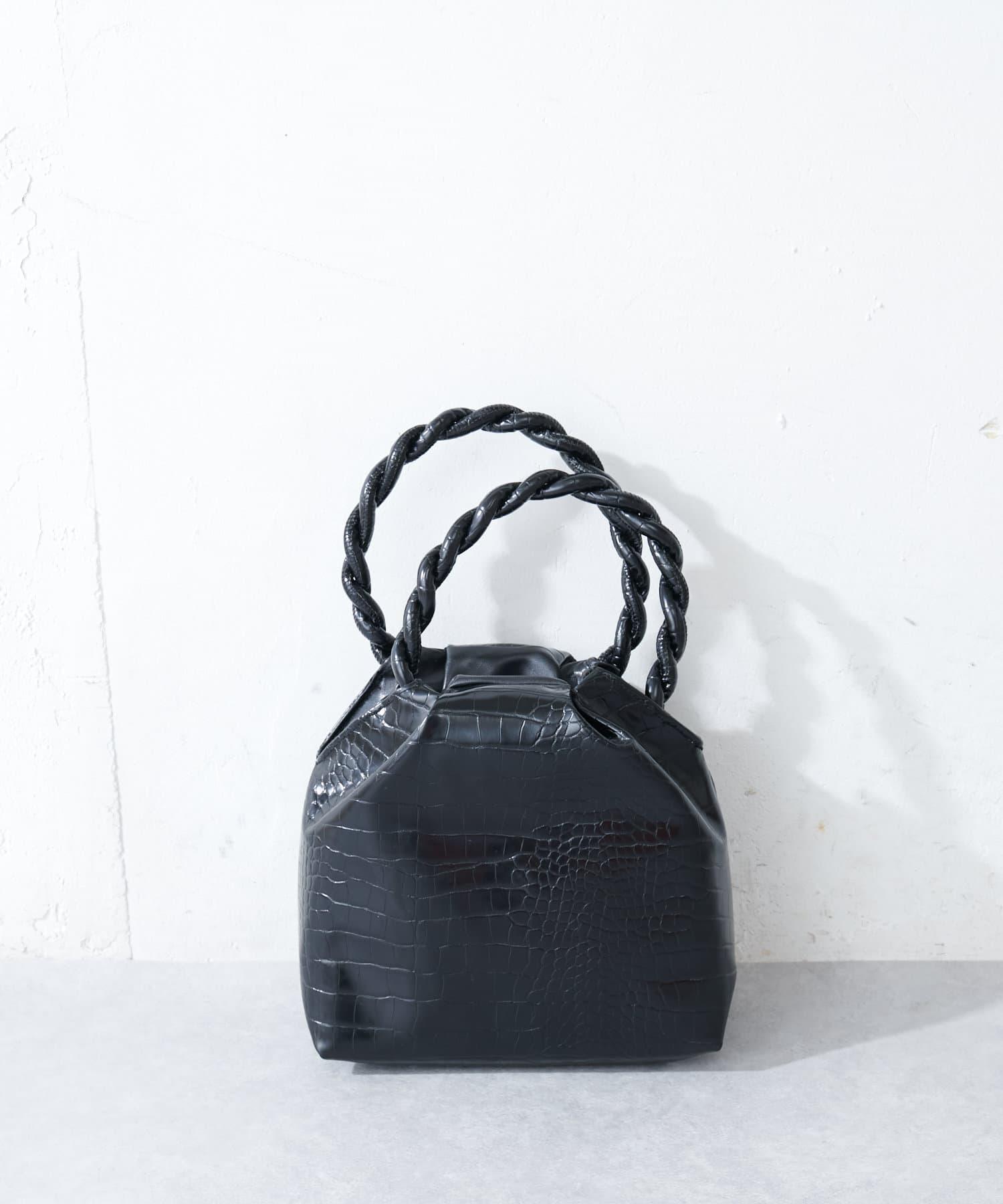 Discoat(ディスコート) 【Casselini/キャセリーニ】カラフルパイソンハンドバッグ