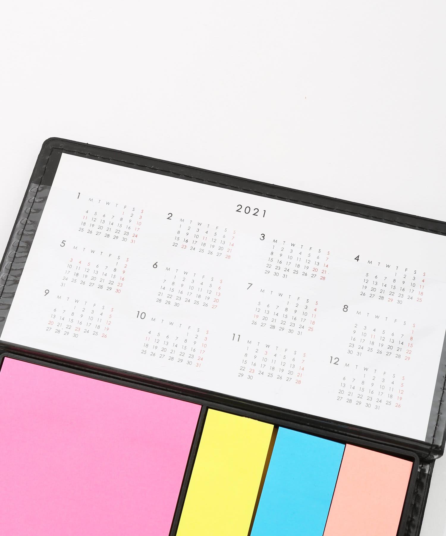 3COINS(スリーコインズ) 【ASOKO】ふせんセットカレンダー