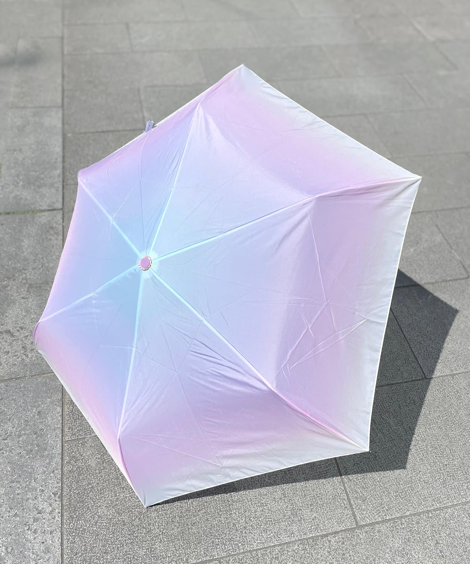 ASOKO(アソコ) <淡い色合いが可愛い♡>ミルキートーン折りたたみ傘
