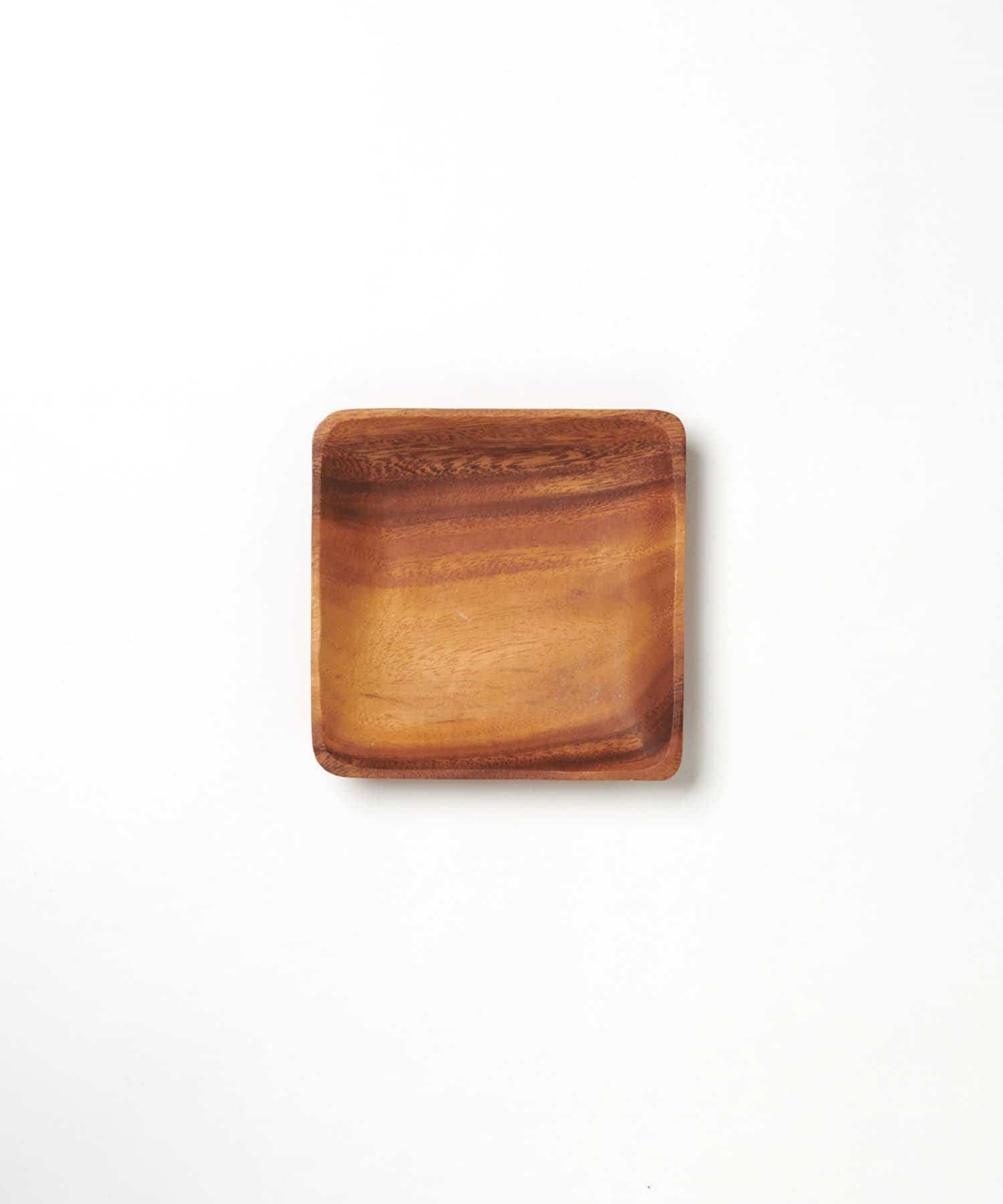 CIAOPANIC TYPY(チャオパニックティピー) ライフスタイル 〈木製食器・お皿〉アカシアスクエアトレー M ブラウン
