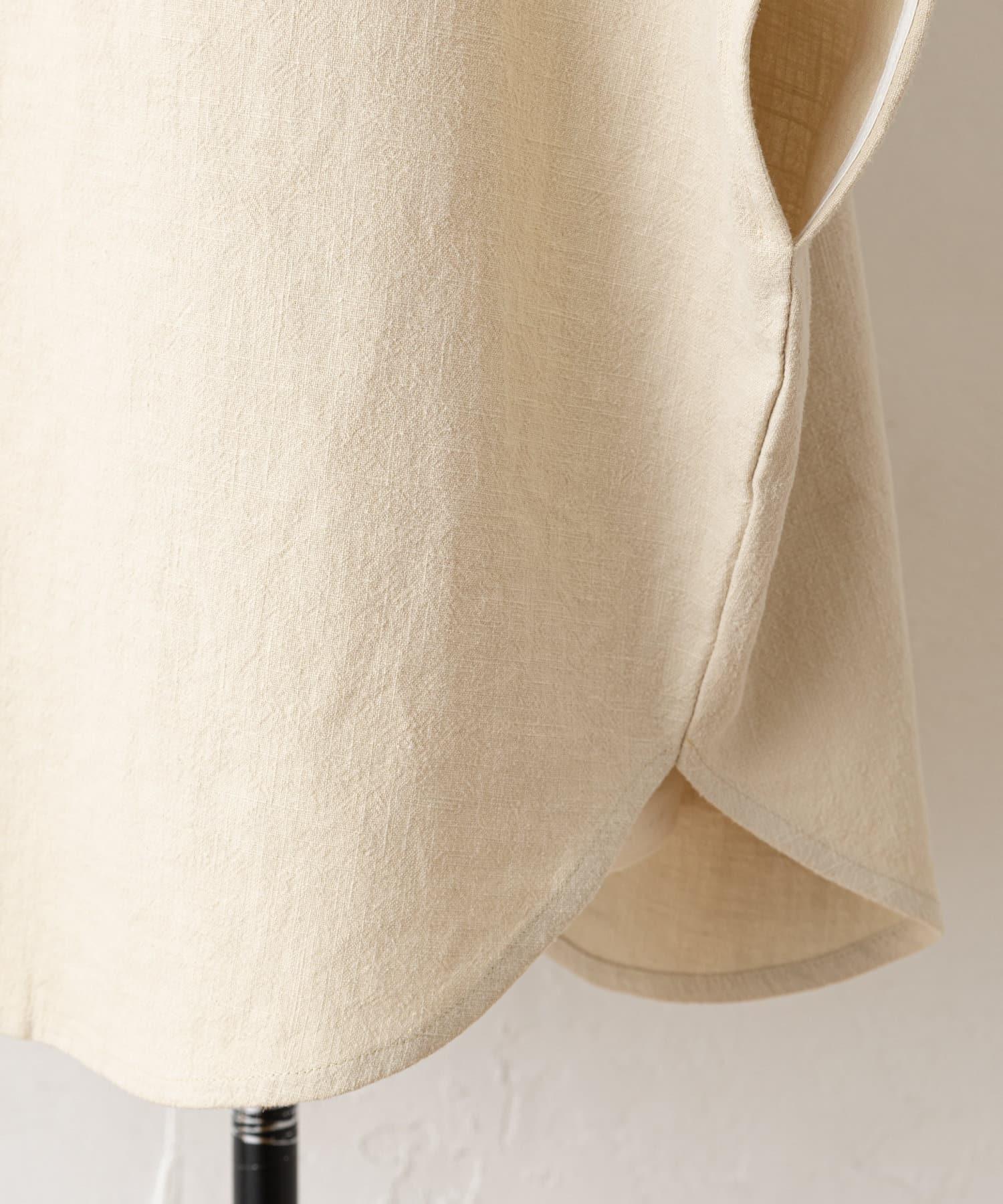 BEARDSLEY(ビアズリー) 《予約・WEB限定で復活》ウシロ花刺繍マルブラウス