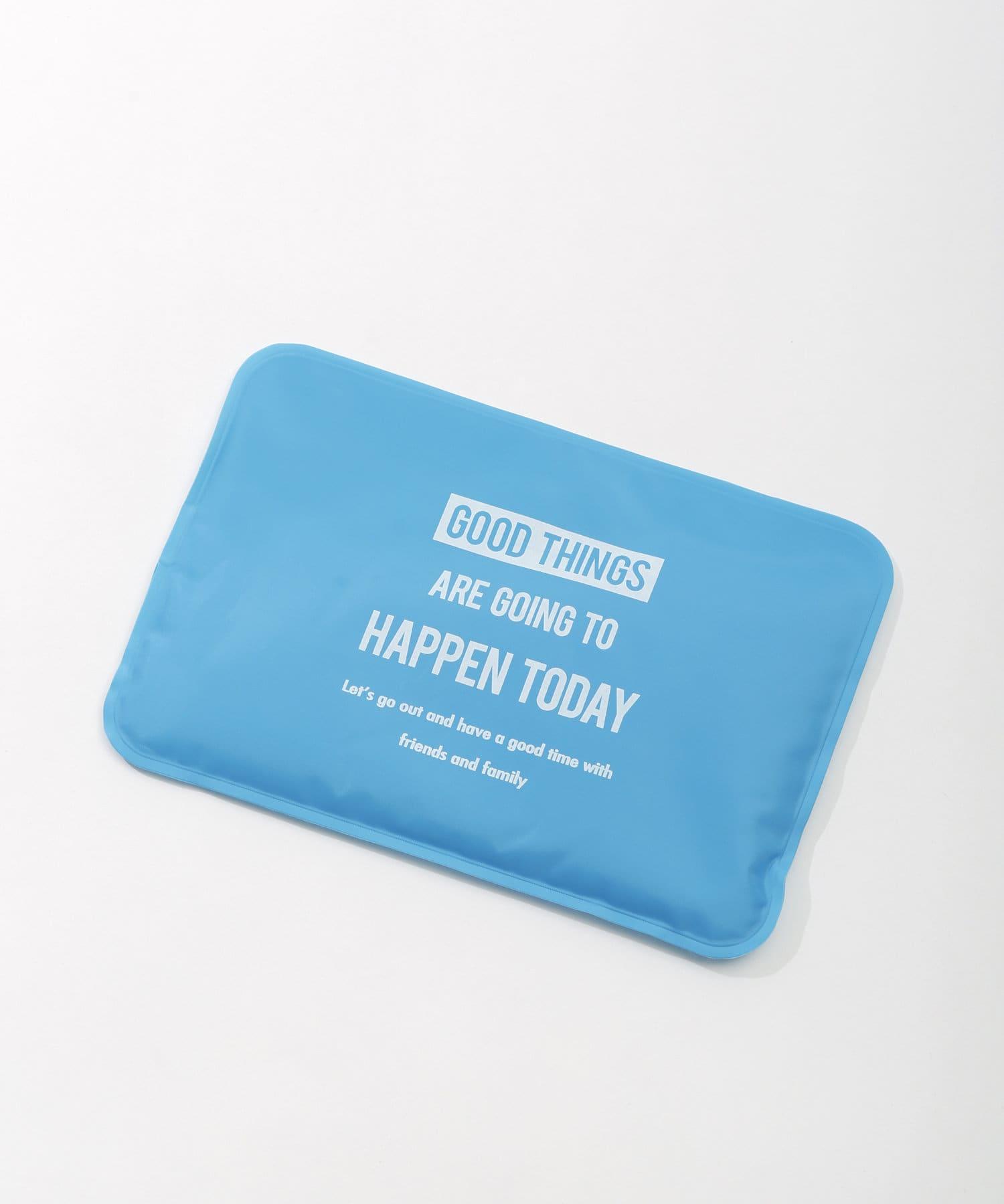3COINS(スリーコインズ) ライフスタイル 【熱中症対策】保冷剤ピロー ブルー
