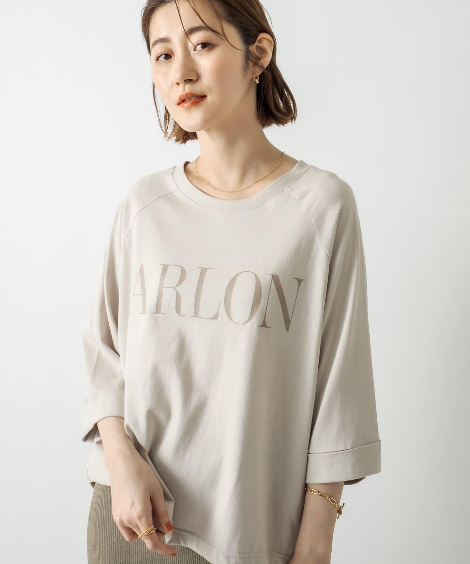 RIVE DROITE(リヴドロワ) 【リラックスした大人のロゴT】ARLONTシャツ