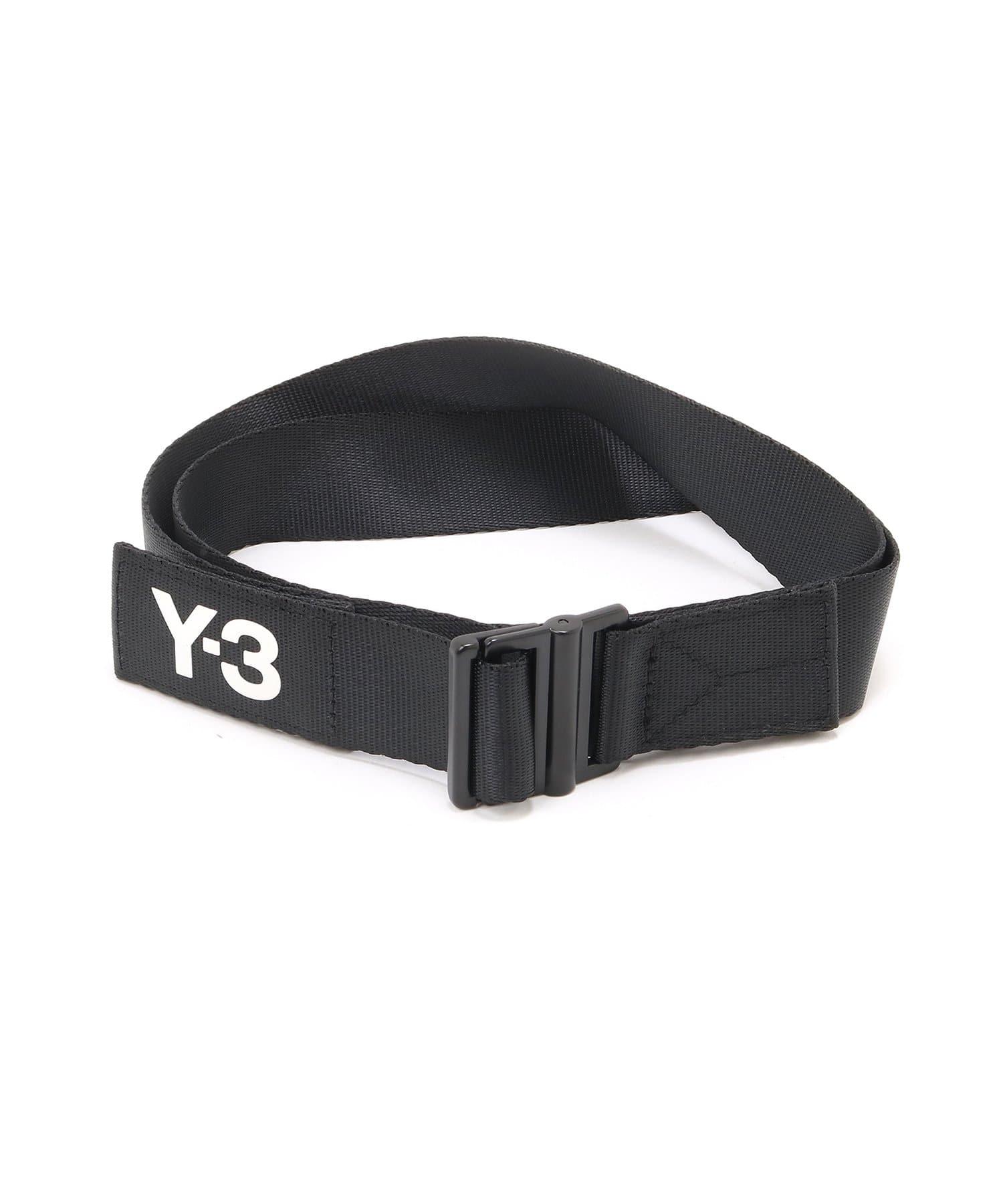 Lui's(ルイス) メンズ 【Y-3】CLASSIC LOGO BELT ブラック