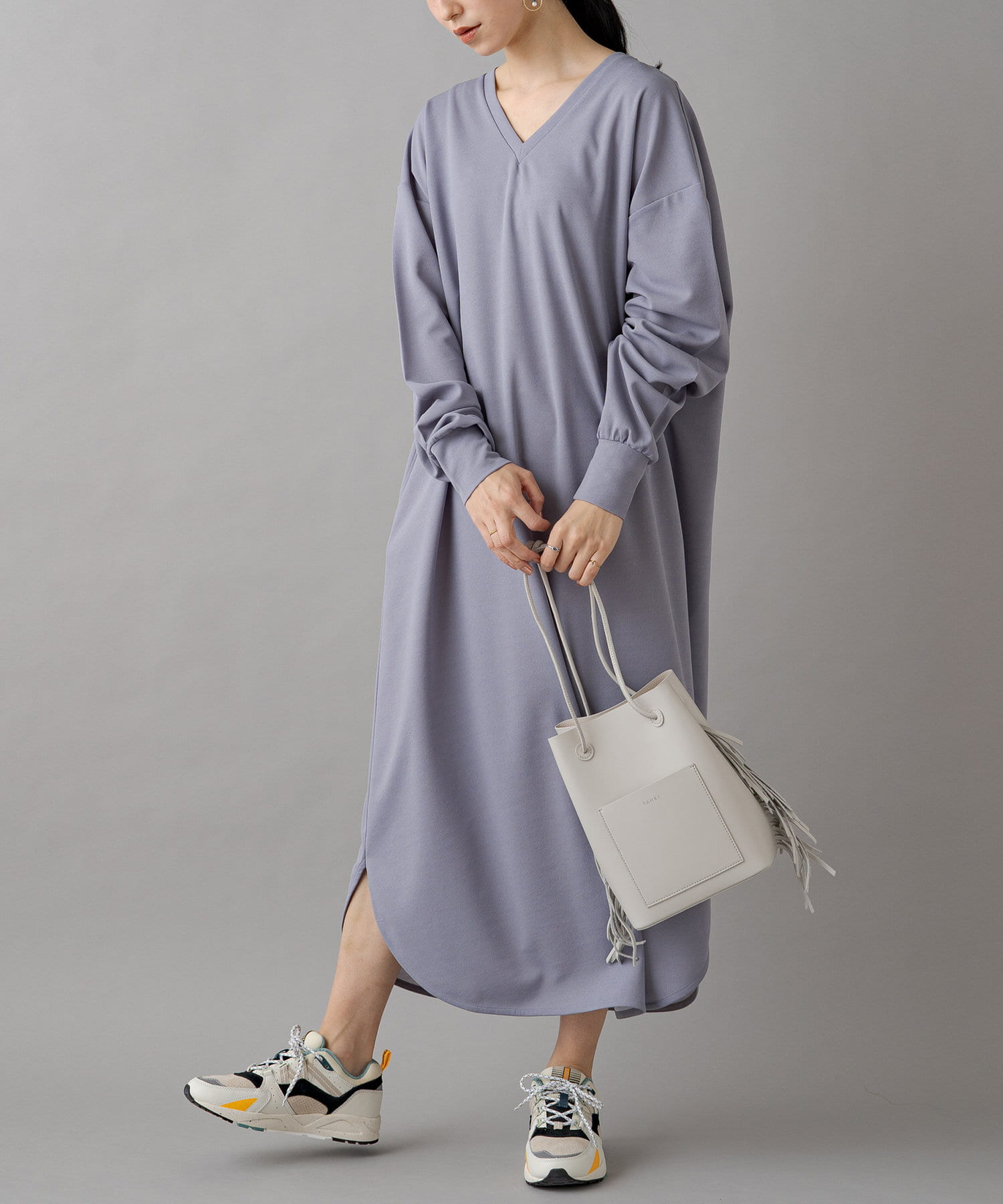 OUTLET(アウトレット) 【Loungedress】ワンマイルワンピース