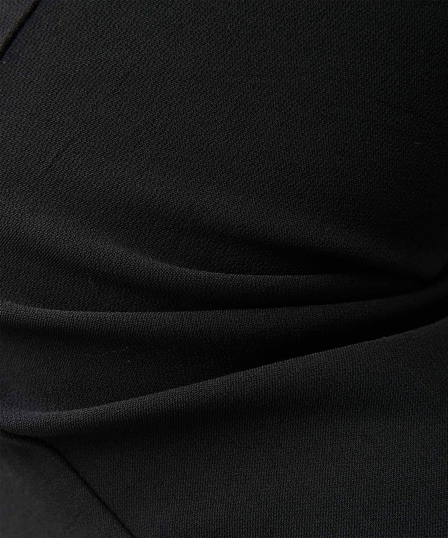 GALLARDAGALANTE(ガリャルダガランテ) 【CEPIE.】ダブルクロスヘムベンツスリムパンツ