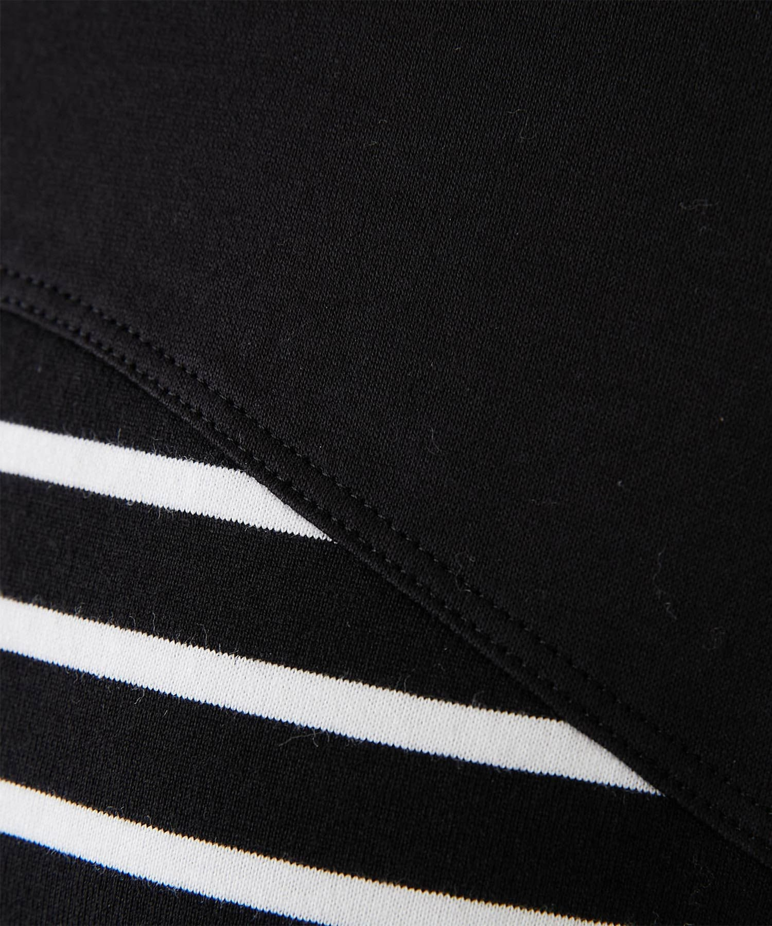 GALLARDAGALANTE(ガリャルダガランテ) 【CEPIE.】スリットスリーブボーダーロングTシャツ