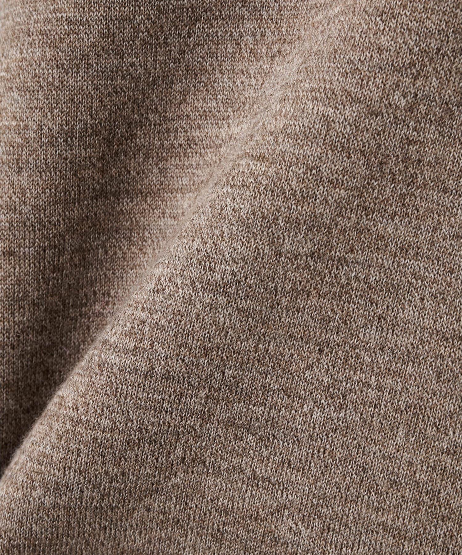 GALLARDAGALANTE(ガリャルダガランテ) 【IIROT】プレーンパターンニットドレス