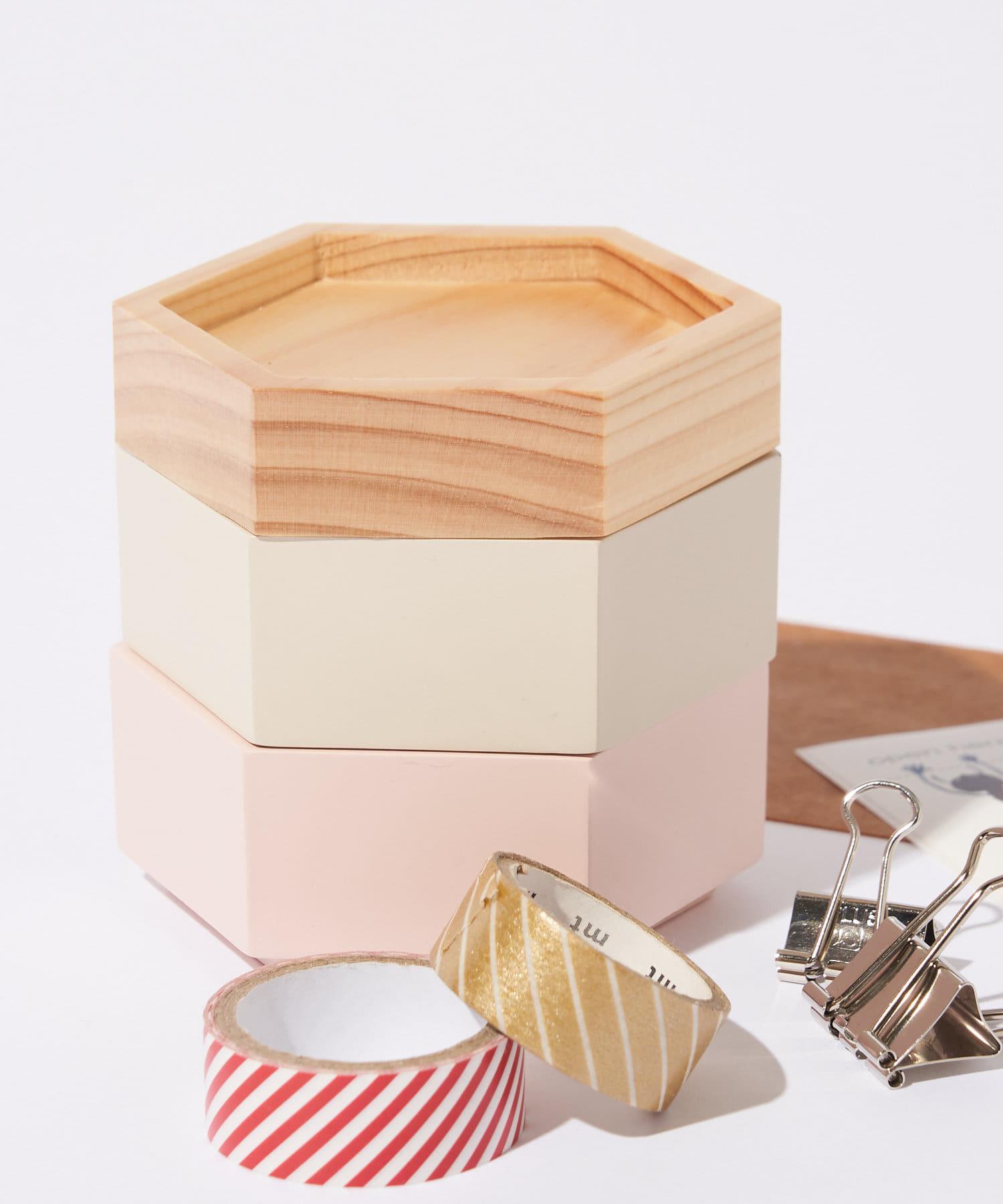 BIRTHDAY BAR(バースデイバー) ライフスタイル Kerata CONTAINER SHORT 小物ケース ピンク