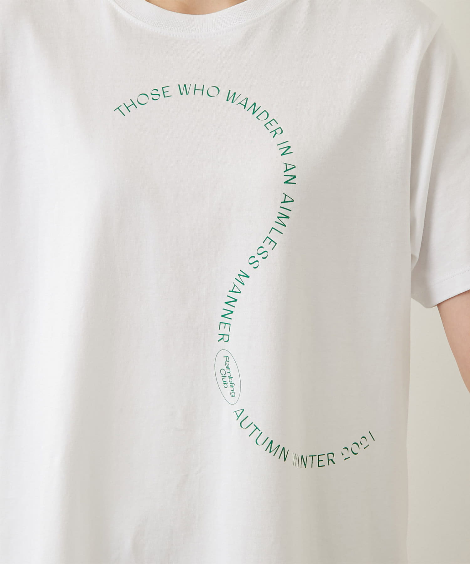 GALLARDAGALANTE(ガリャルダガランテ) 【Personal Effects】グラフィックTシャツ