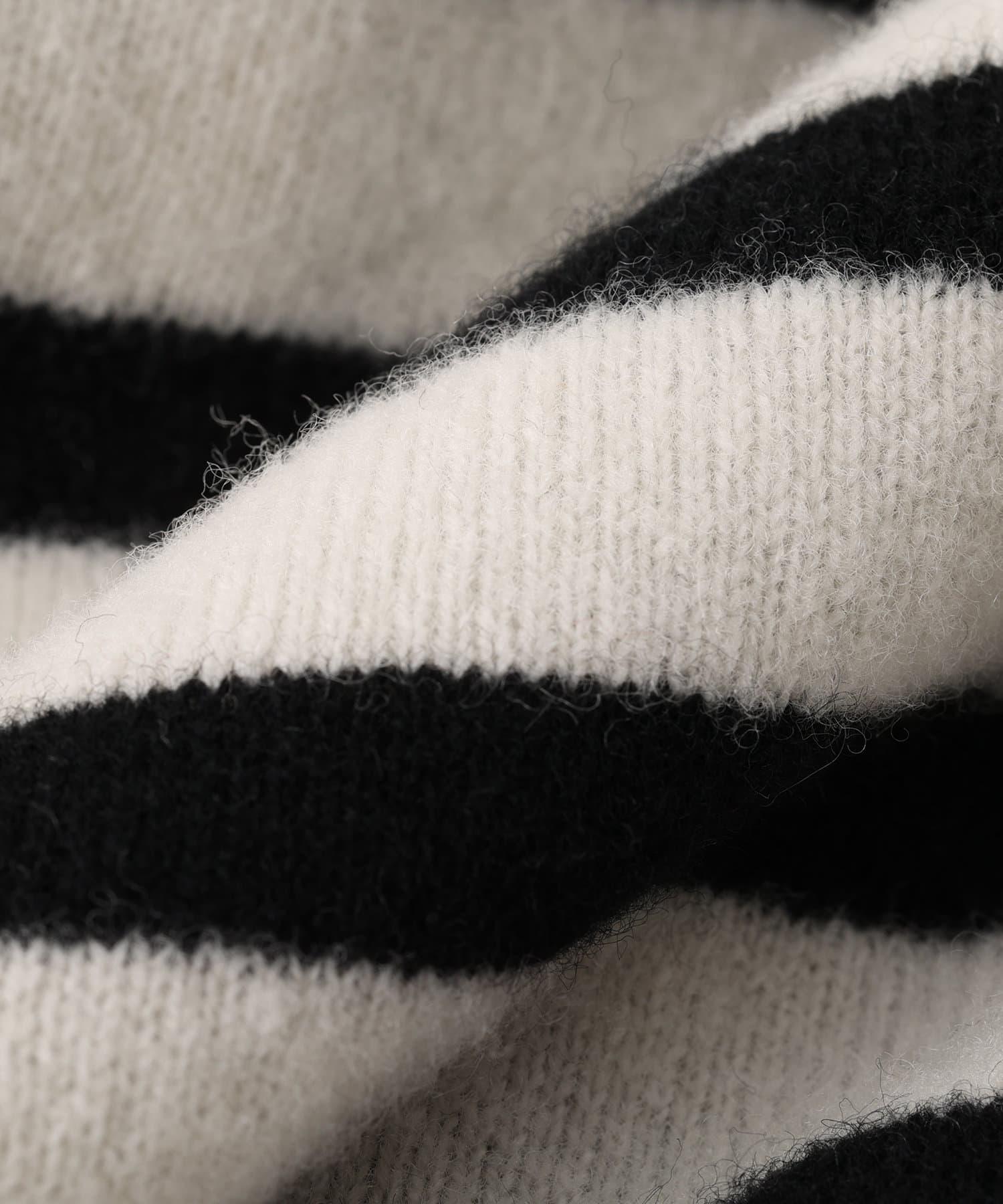 RIVE DROITE(リヴドロワ) 【ニコ. ニコルソンアンドニコルソン】ストライプ2WAYカーディガン