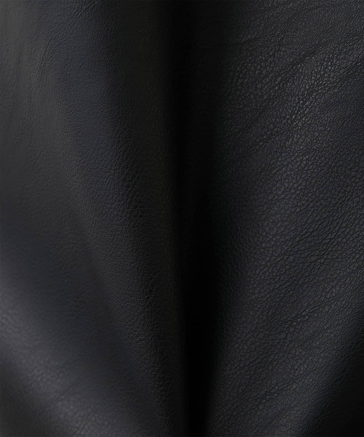GALLARDAGALANTE(ガリャルダガランテ) 【CEPIE.】エコレザーサイドZIPスカート