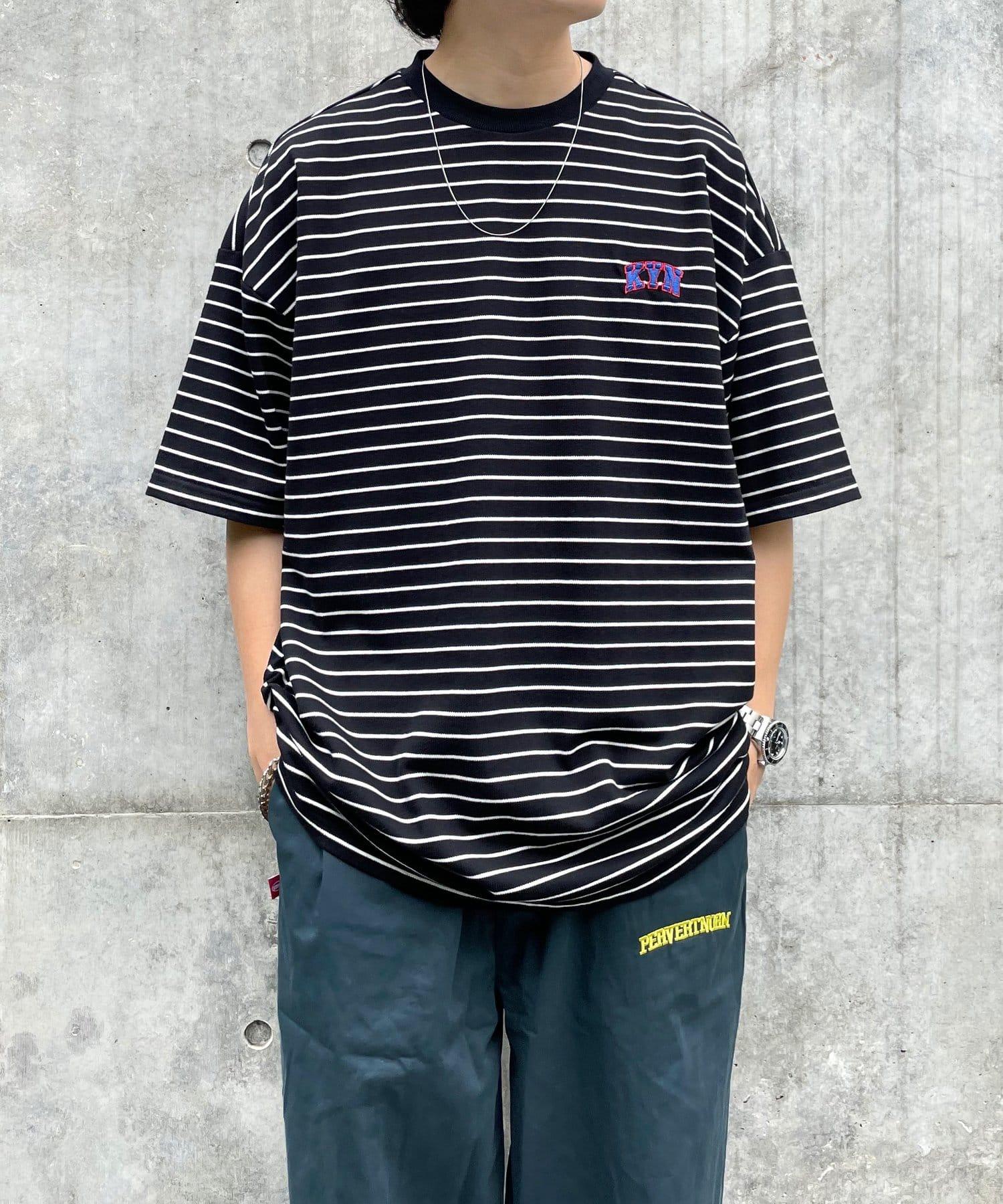 WHO'S WHO gallery(フーズフーギャラリー) 【KOOKY'N/クーキー】KY刺繍ボーダーTEE
