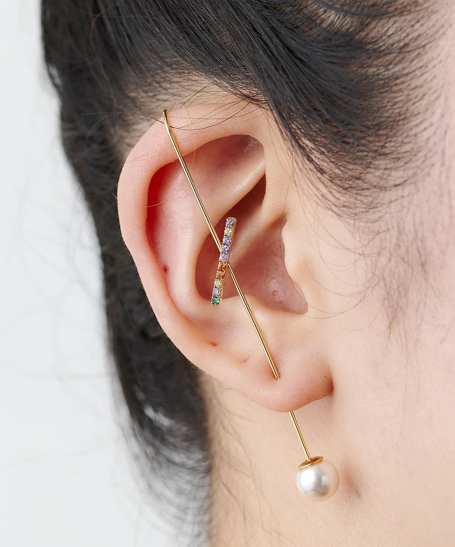 ear PAPILLONNER(イア パピヨネ) (WEB限定カラーあり)イヤーラップピアス
