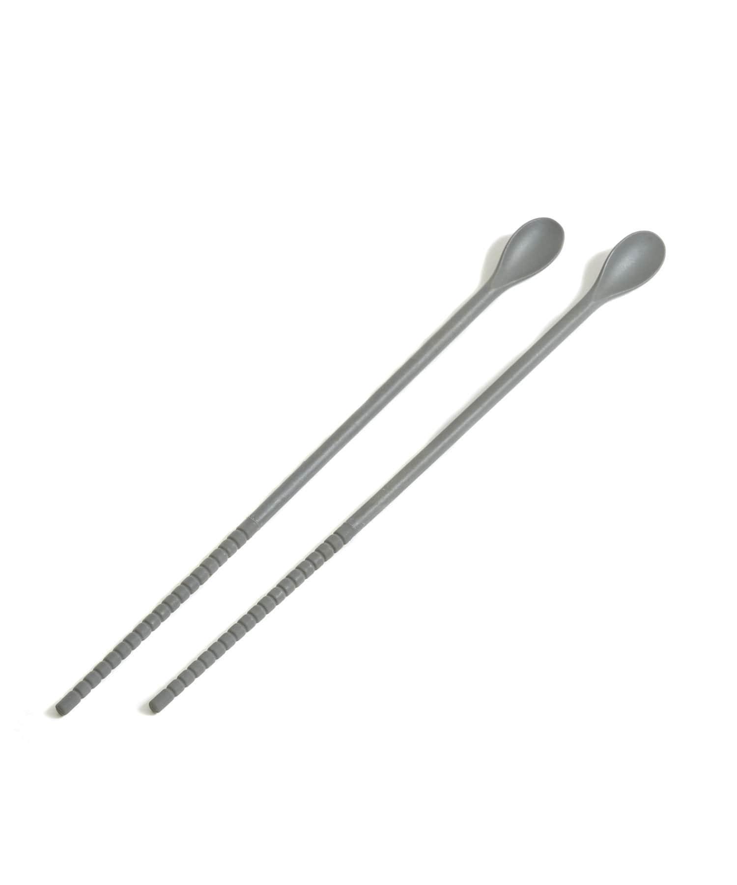 3COINS(スリーコインズ) ライフスタイル 【つくる・そろえる】シリコン菜箸 その他