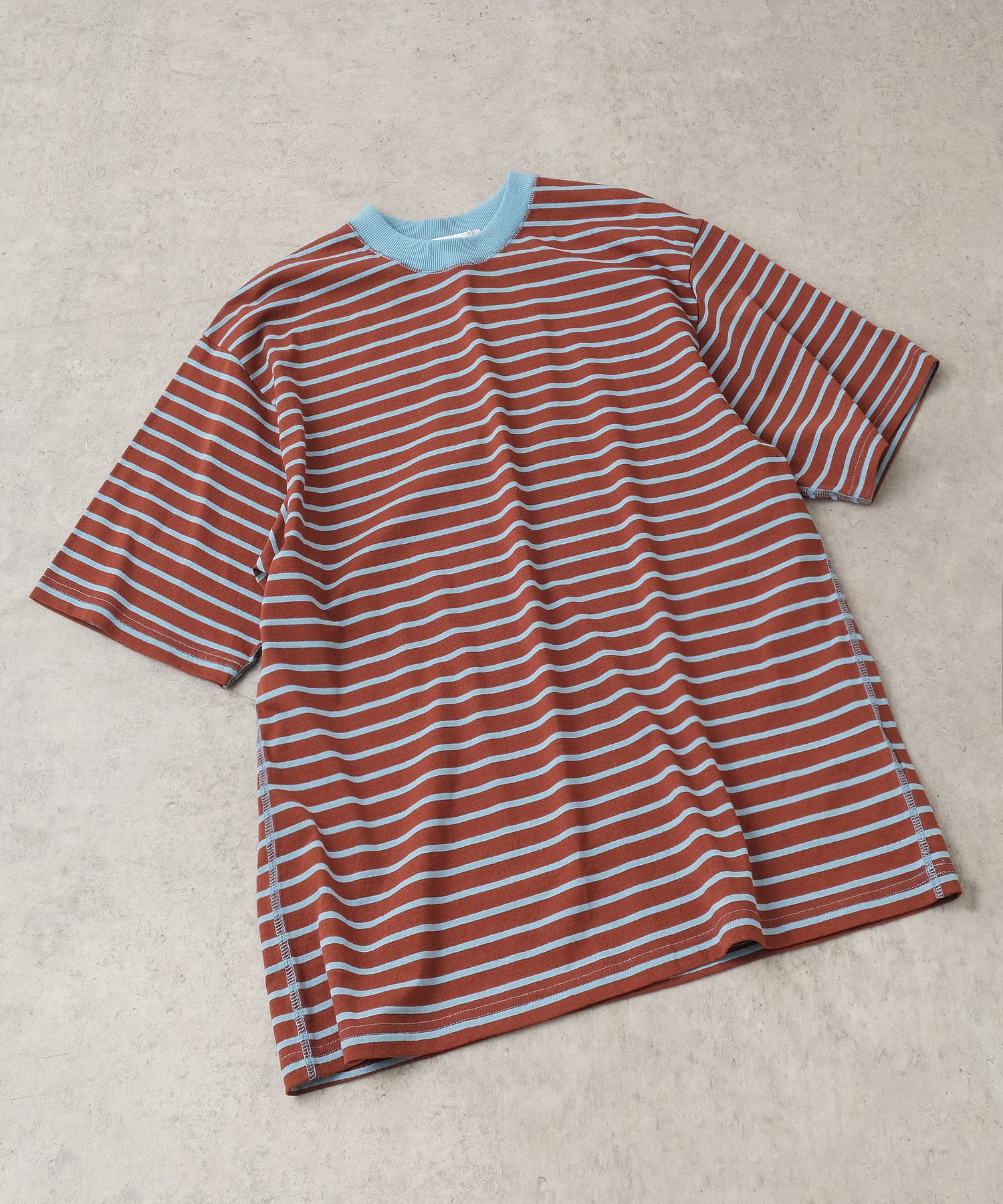 Discoat(ディスコート) リンガーボーダーTシャツ