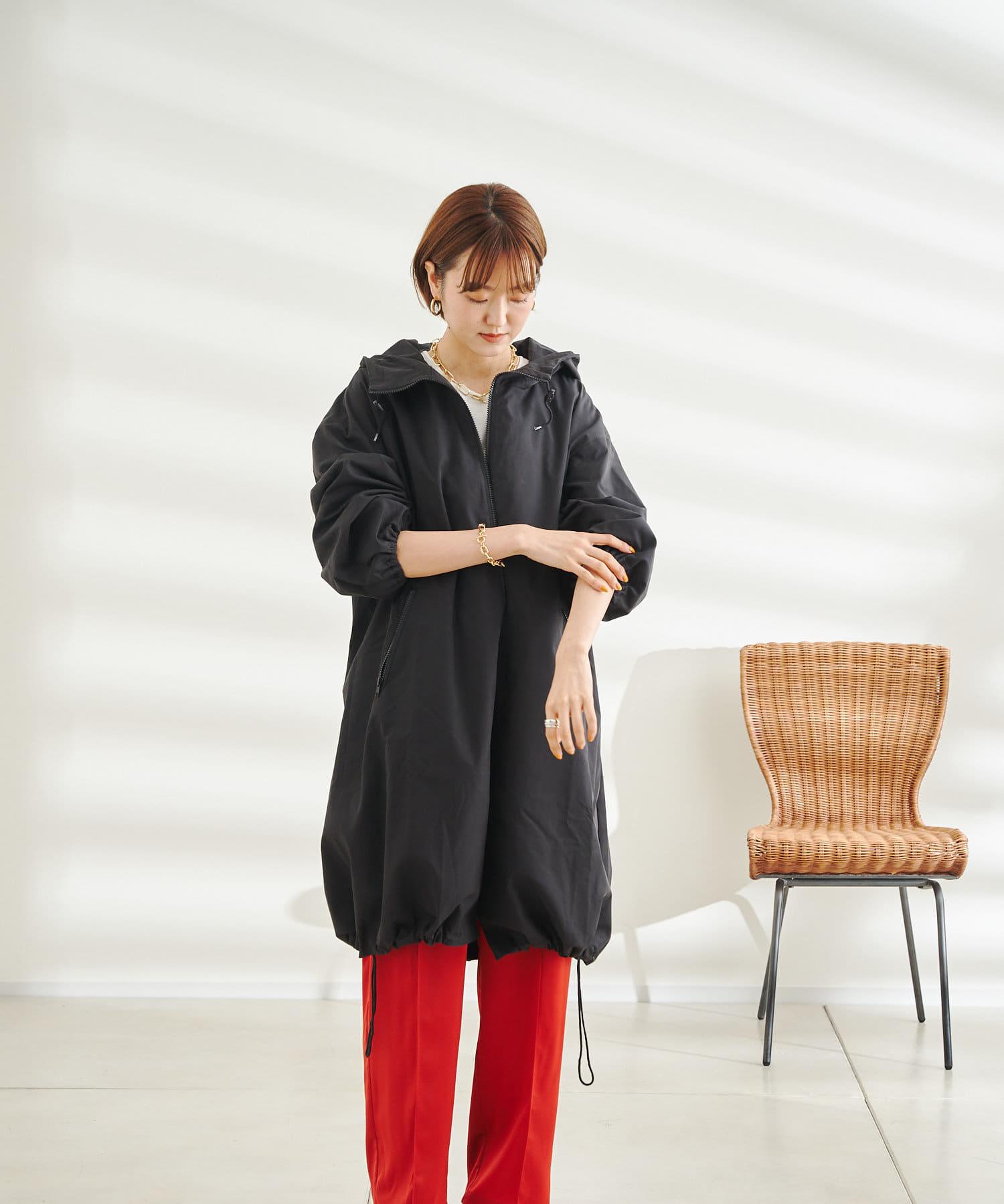 DOUDOU(ドゥドゥ) 【WEB限定】ジップパーカーフレアコート