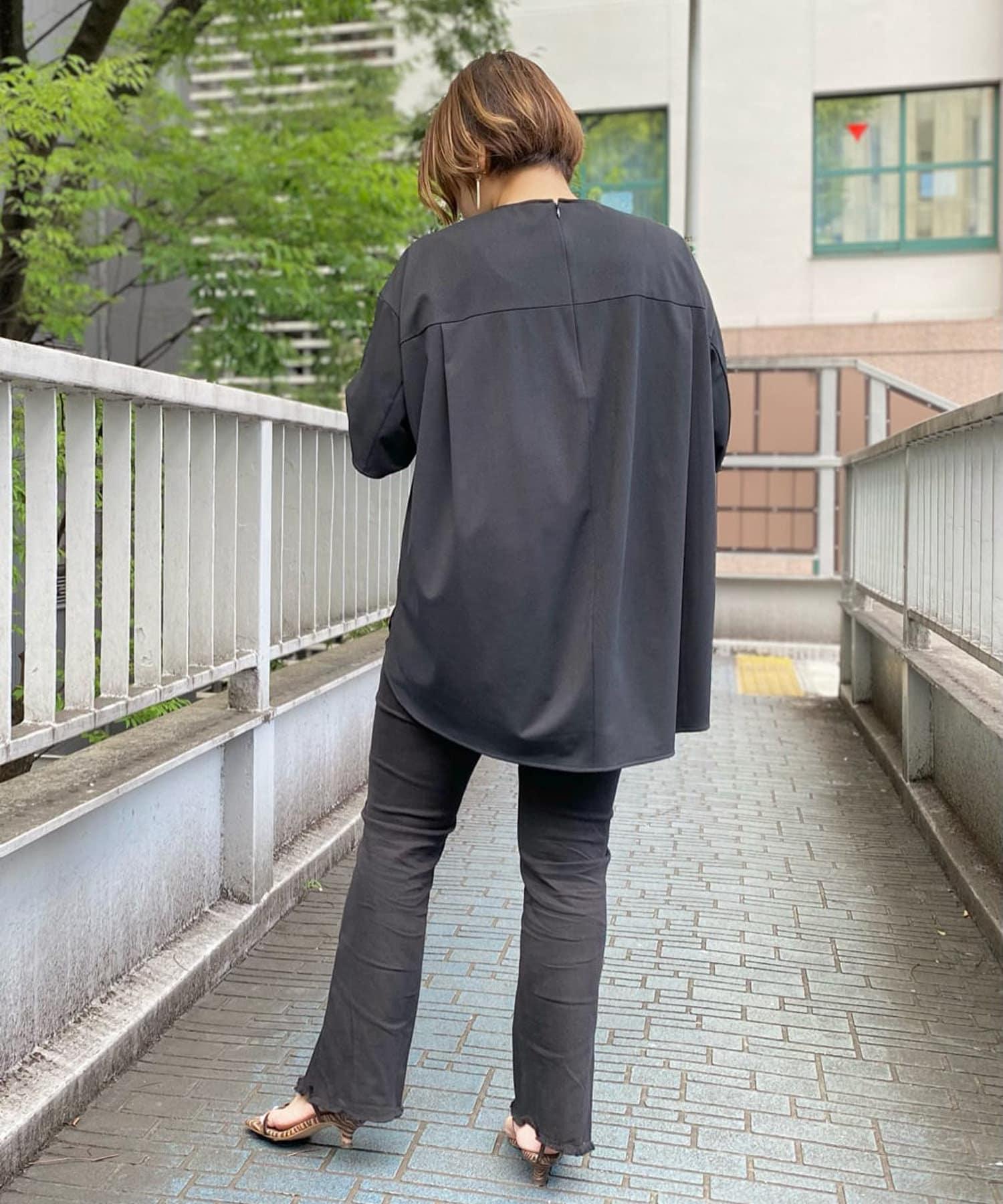 RIVE DROITE(リヴドロワ) 【神山まりあさんコラボ】クイックドライバックフォルムTシャツ