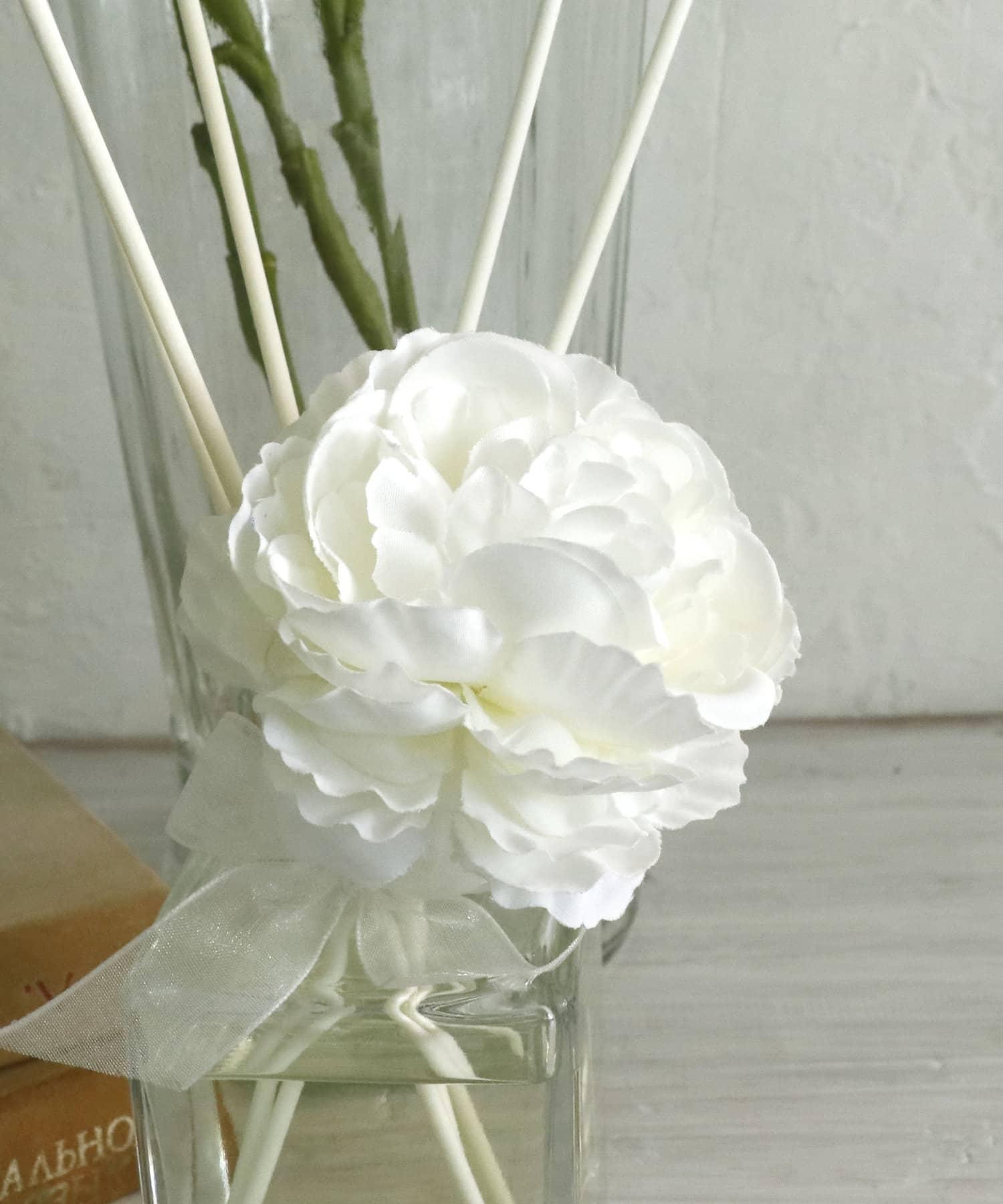 salut!(サリュ) ライフスタイル 【Welcome Decoration】ピオニースティック(ホワイト) ホワイト