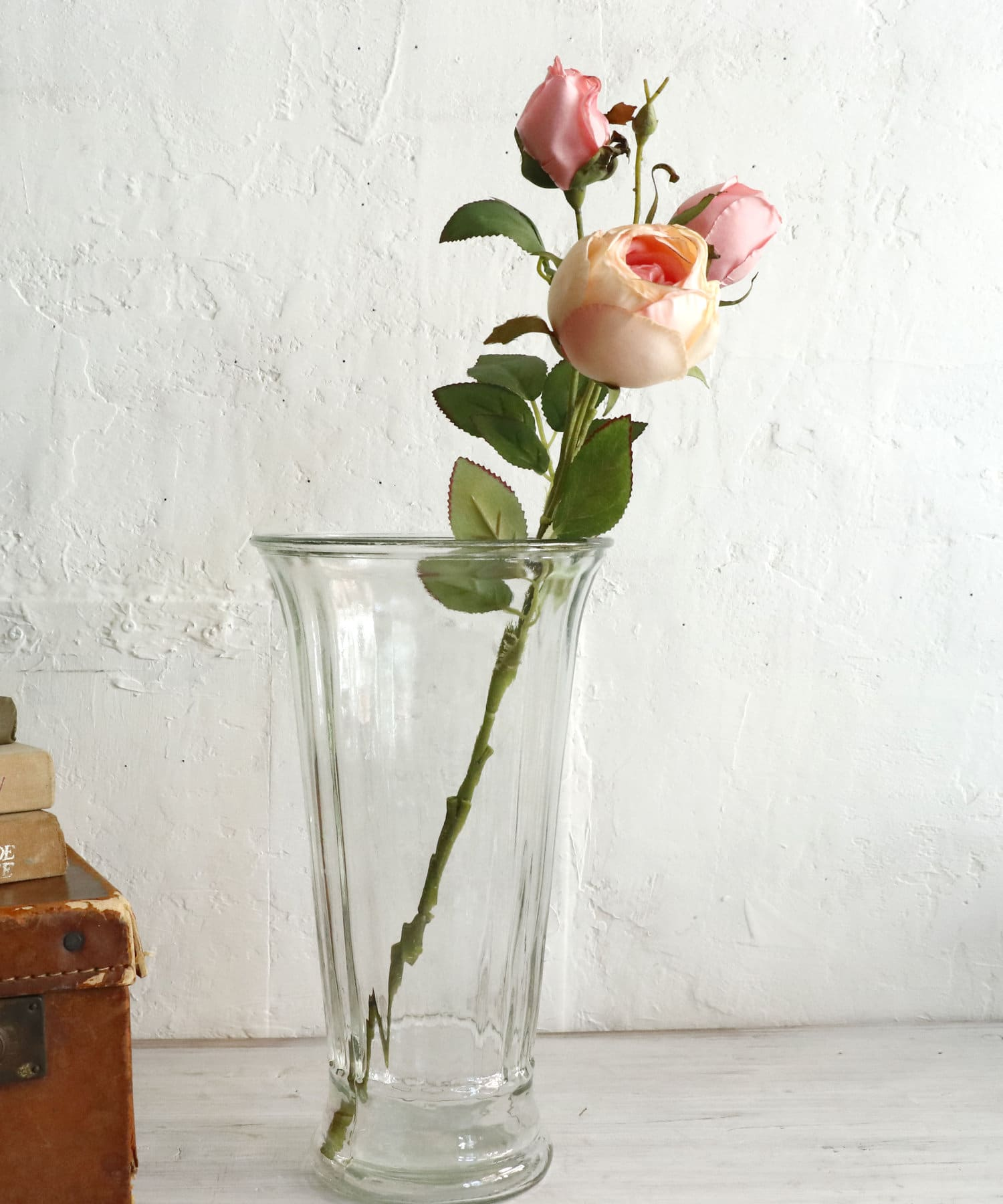 salut!(サリュ) ライフスタイル 【Welcome Decoration】フェイクローズ(ピンク) ピンク