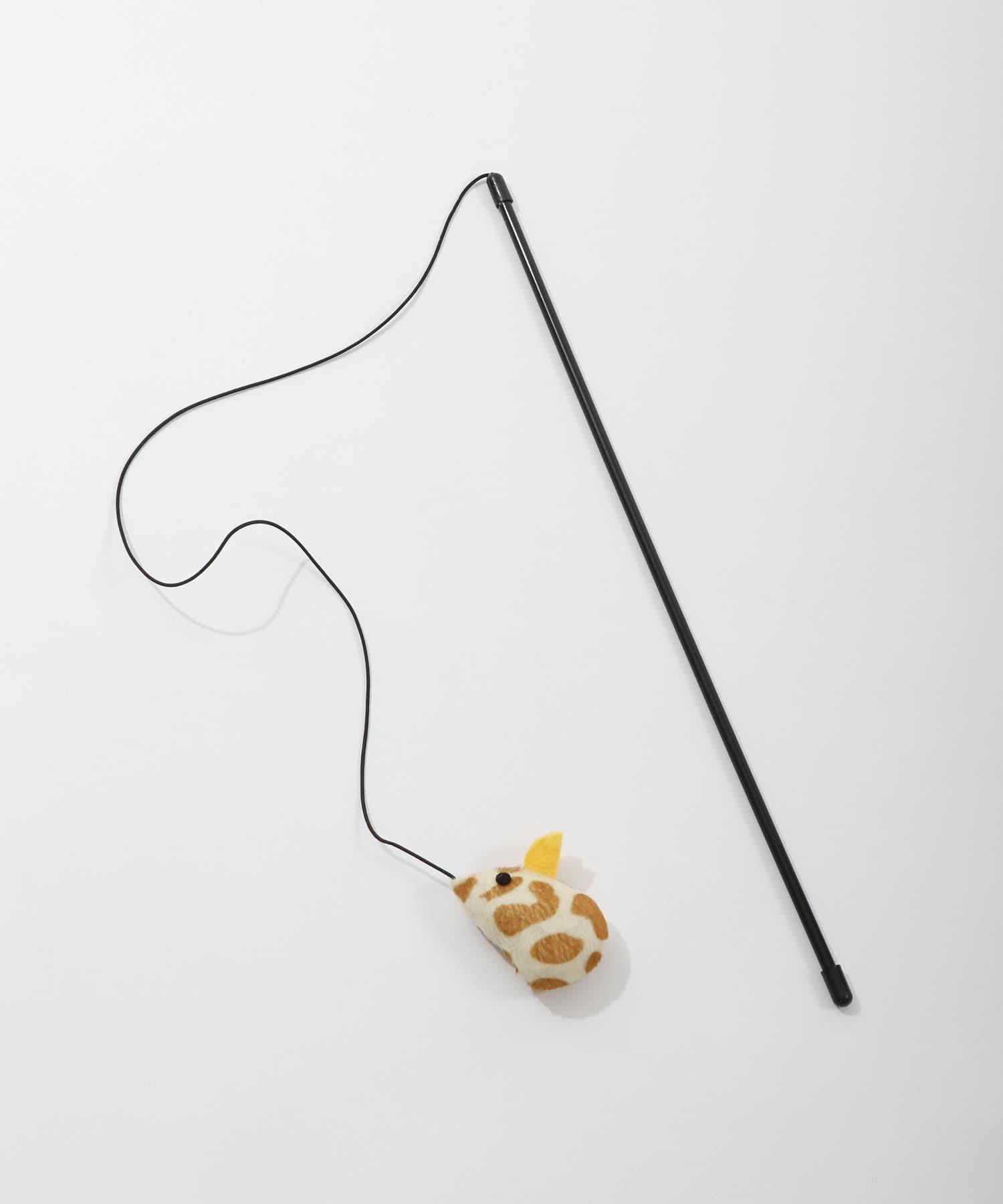 3COINS(スリーコインズ) ライフスタイル ペット用おもちゃスティックマウス2個SET その他