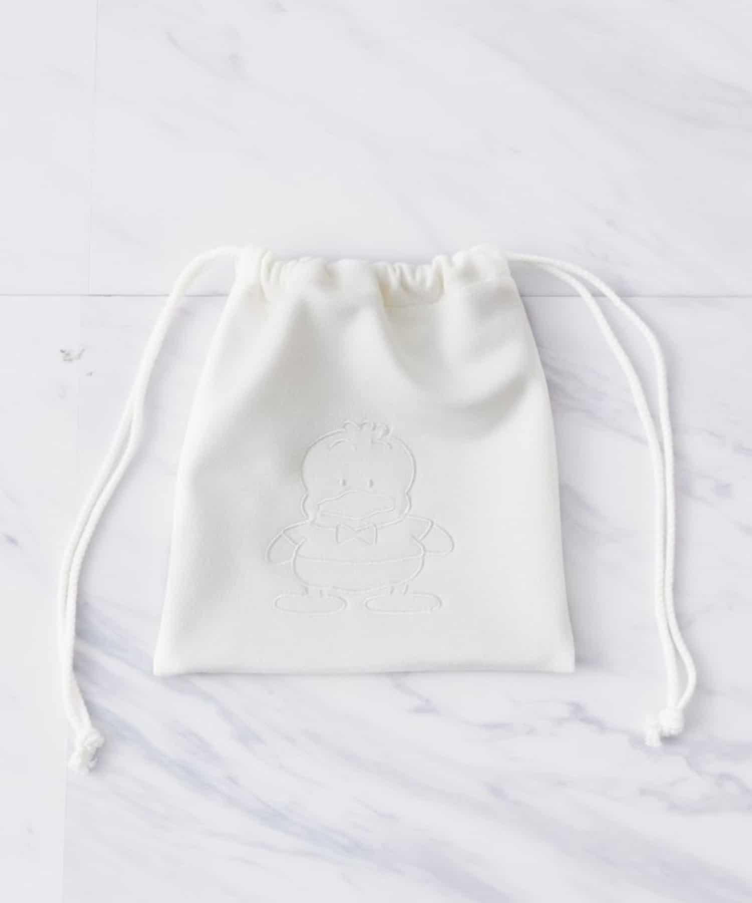 OLIVE des OLIVE OUTLET(オリーブ・デ・オリーブ アウトレット) はぴだんぶい 刺繍巾着
