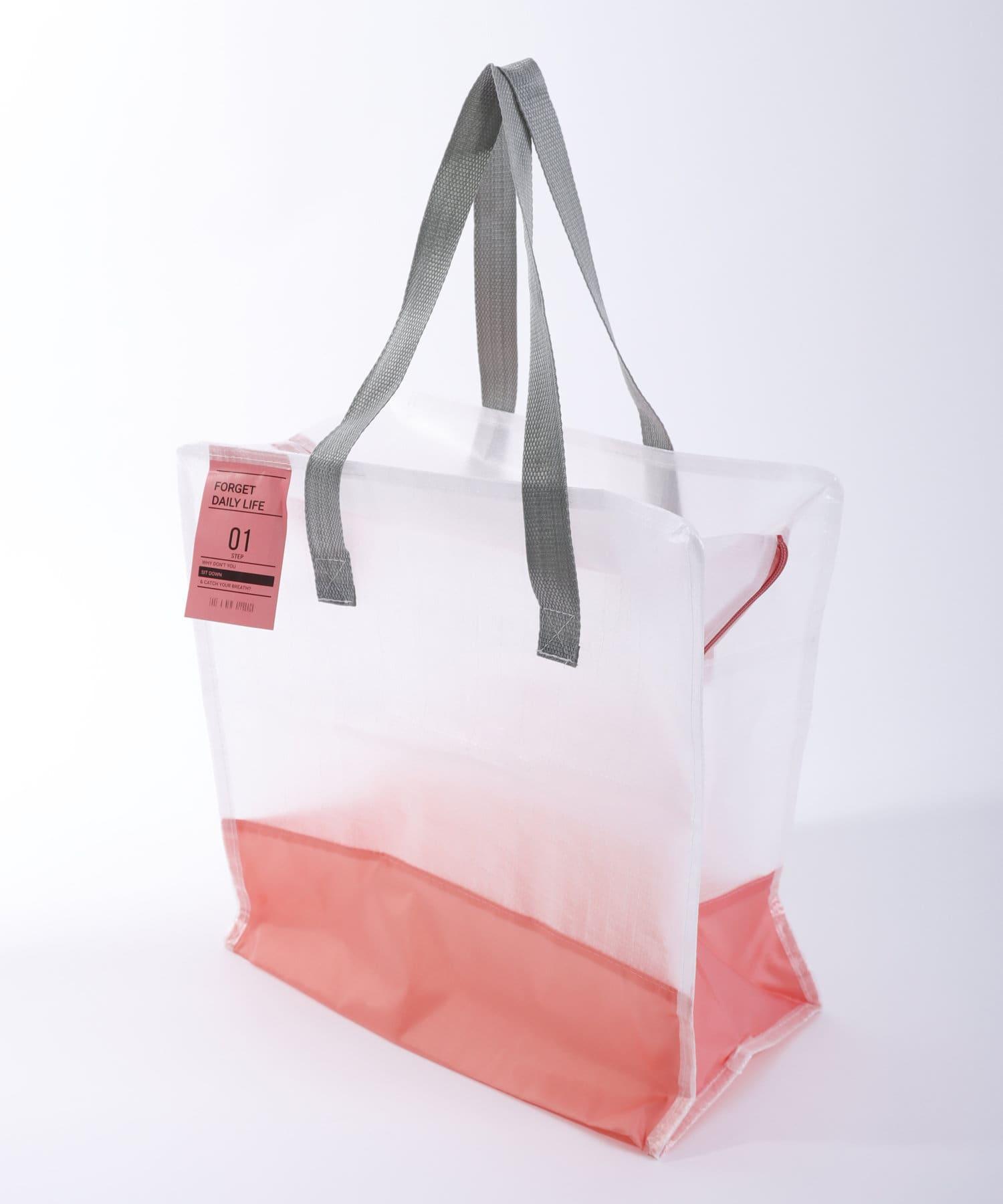 3COINS(スリーコインズ) ライフスタイル 【GIRLY PICNIC】レジャーバッグ【Mサイズ】 ピンク