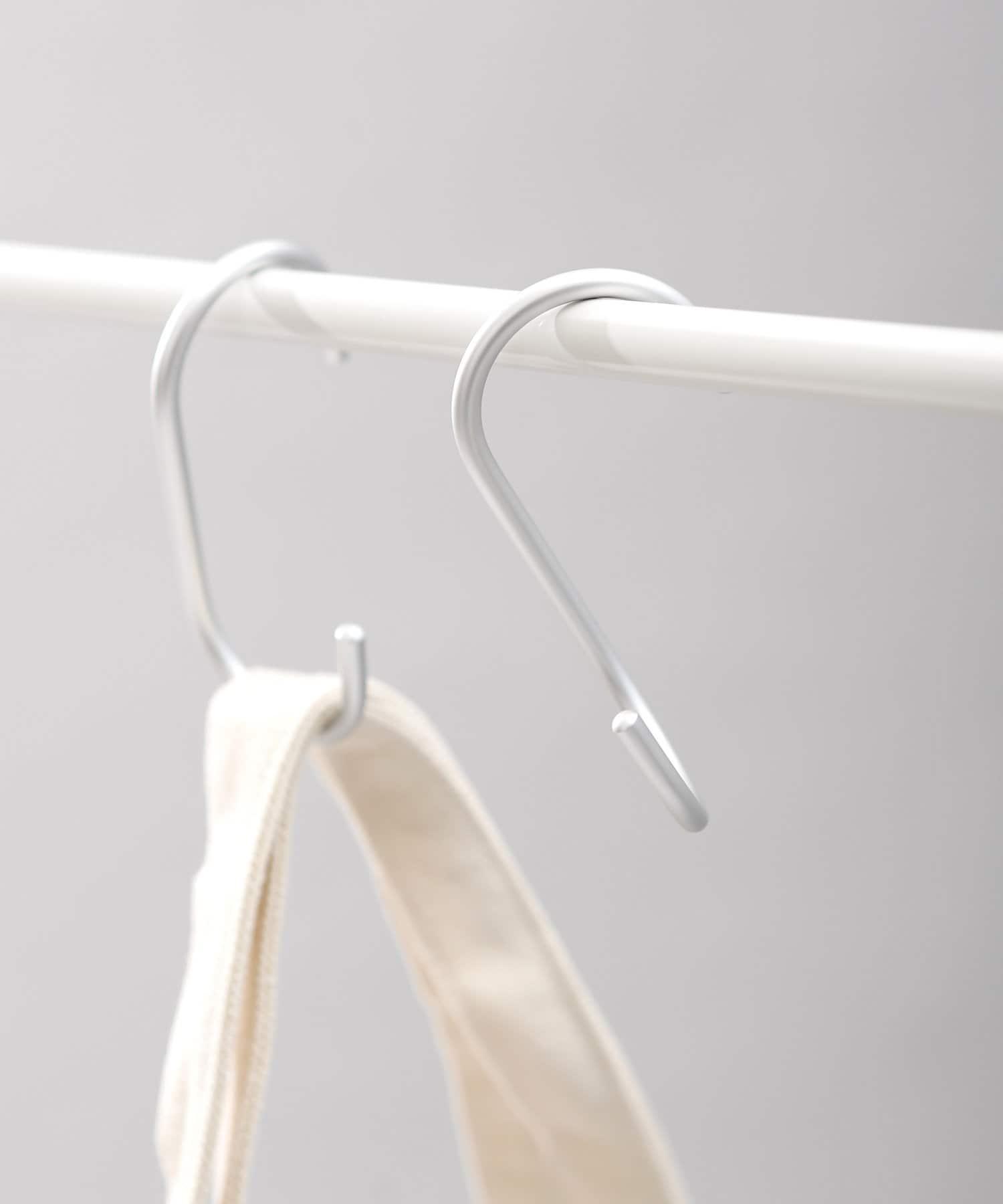 ASOKO(アソコ) ライフスタイル 【ASOKO GOOD STANDARD】ねじれS字フック2個セット シルバー