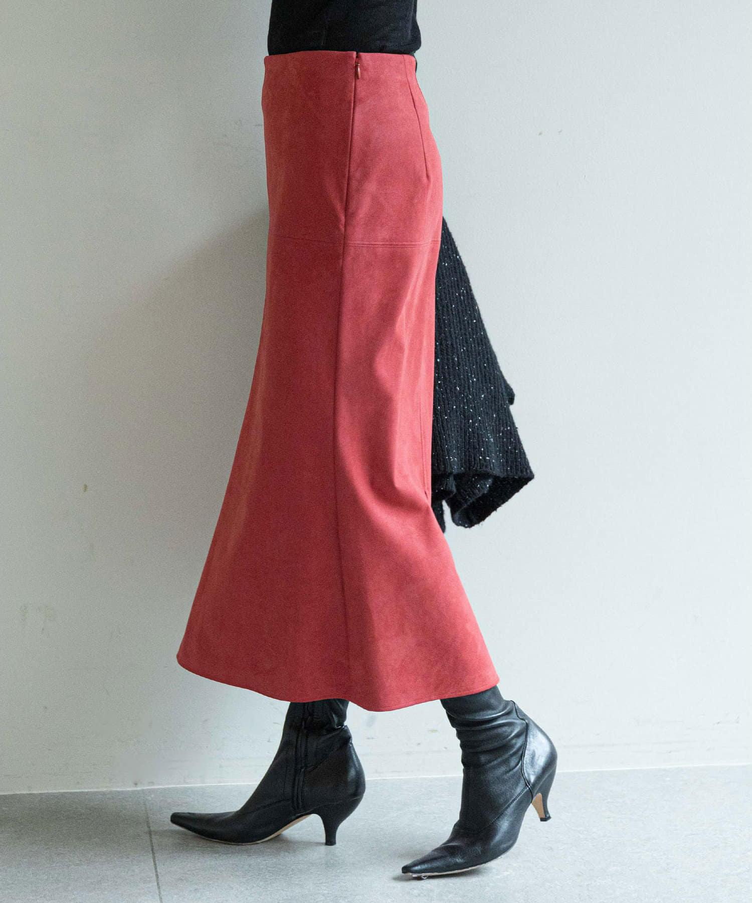 GALLARDAGALANTE(ガリャルダガランテ) エコスエードマーメイドスカート