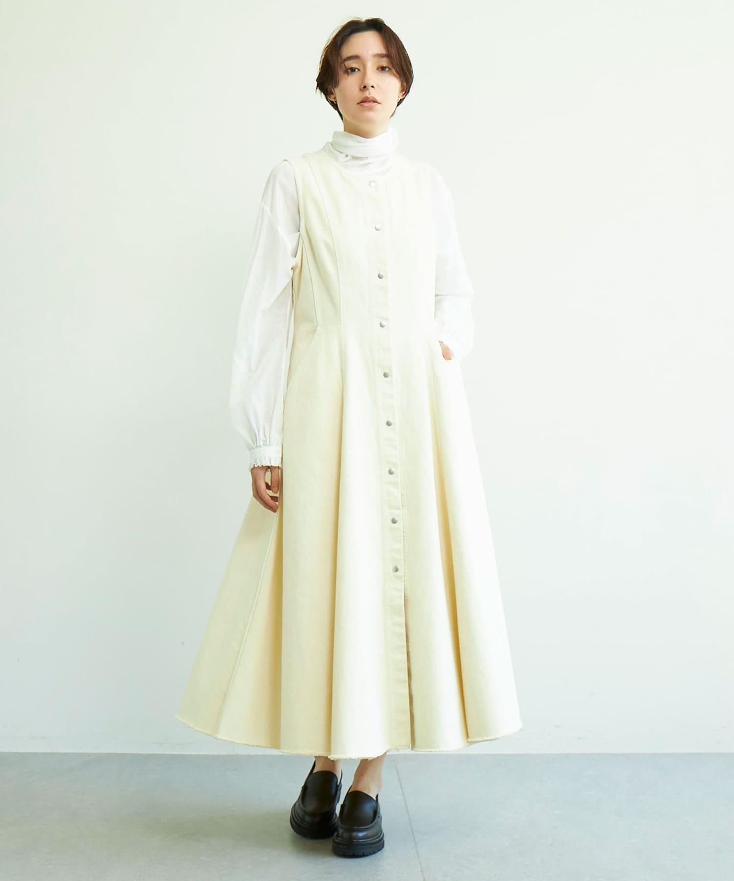 GALLARDAGALANTE(ガリャルダガランテ) コットンツイルジャンパースカート