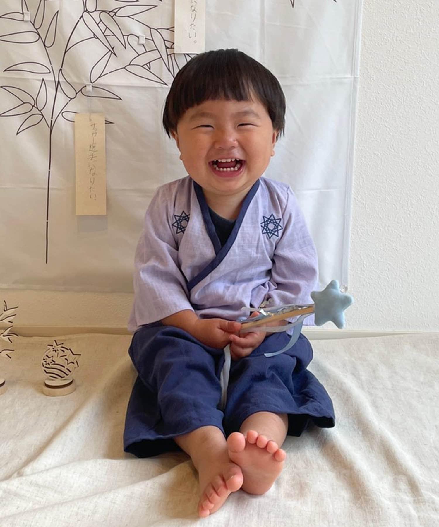 3COINS(スリーコインズ) 【七夕をおうちフォトで楽しもう】袴セット