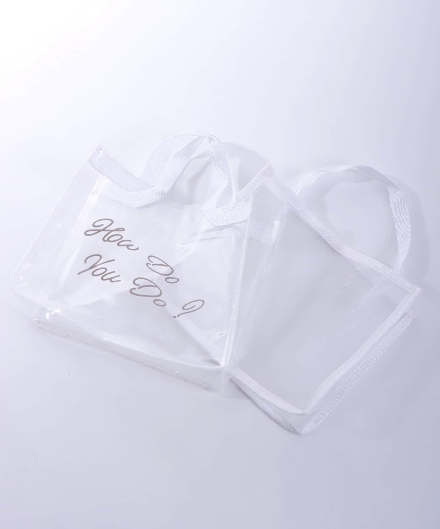 3COINS(スリーコインズ) ライフスタイル 【持ち歩きにもおすすめスパグッズ♪】スパバック2個SET ホワイト