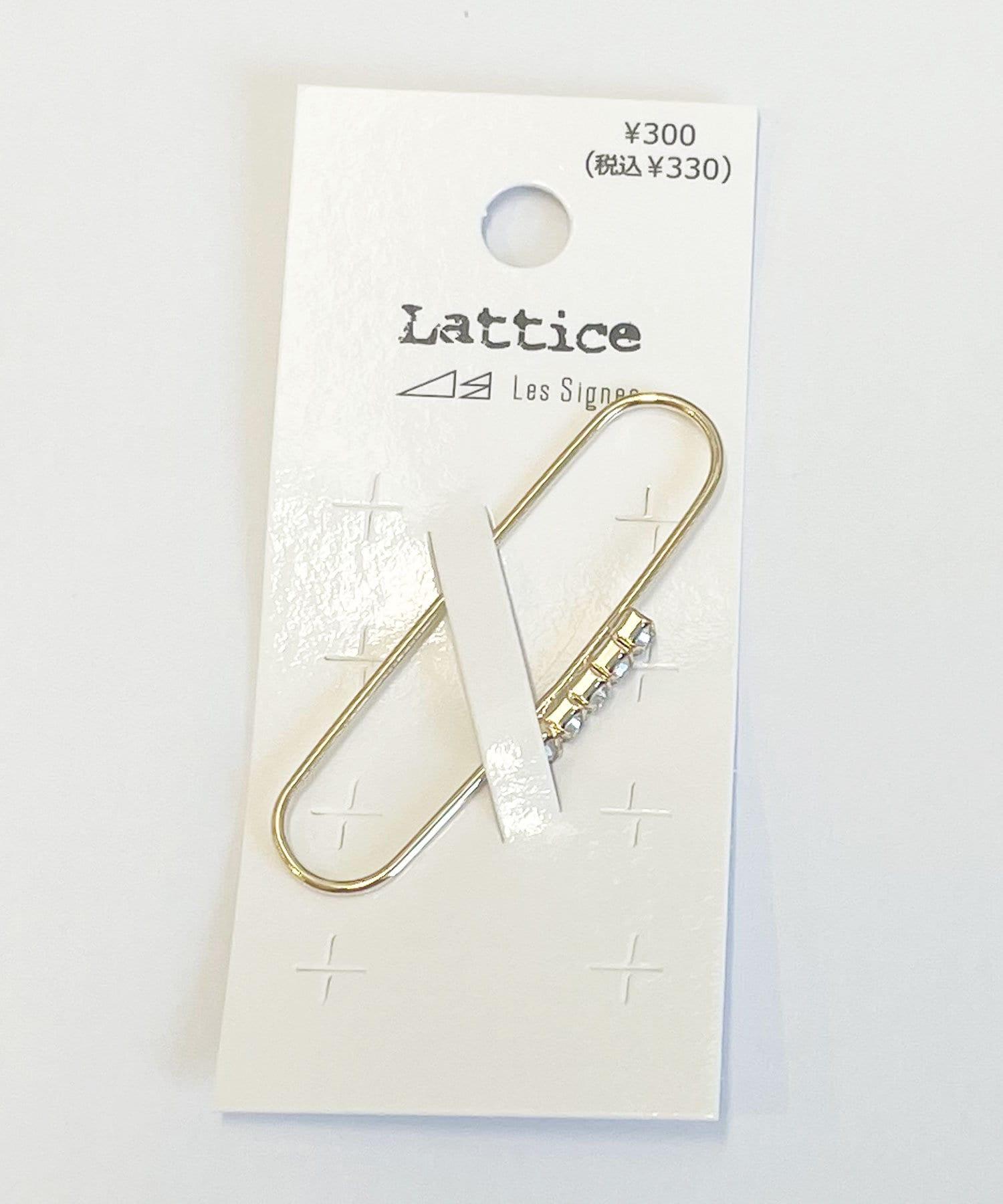 Lattice(ラティス) ストーンラインカバーイヤカフ