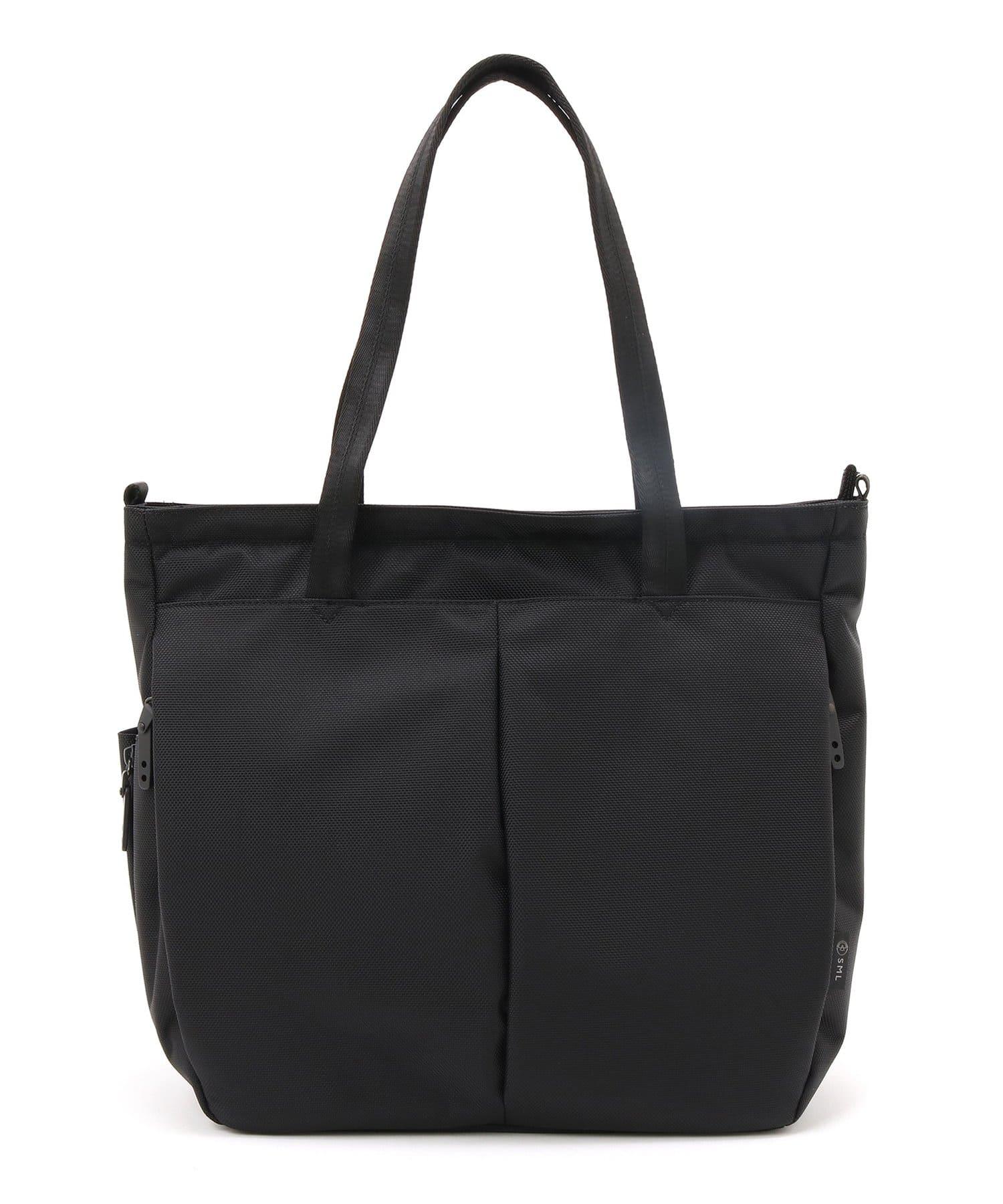 Lui's(ルイス) メンズ 【SML/エスエムエル】2WAY TOTE BAG(トートバッグ) ブラック