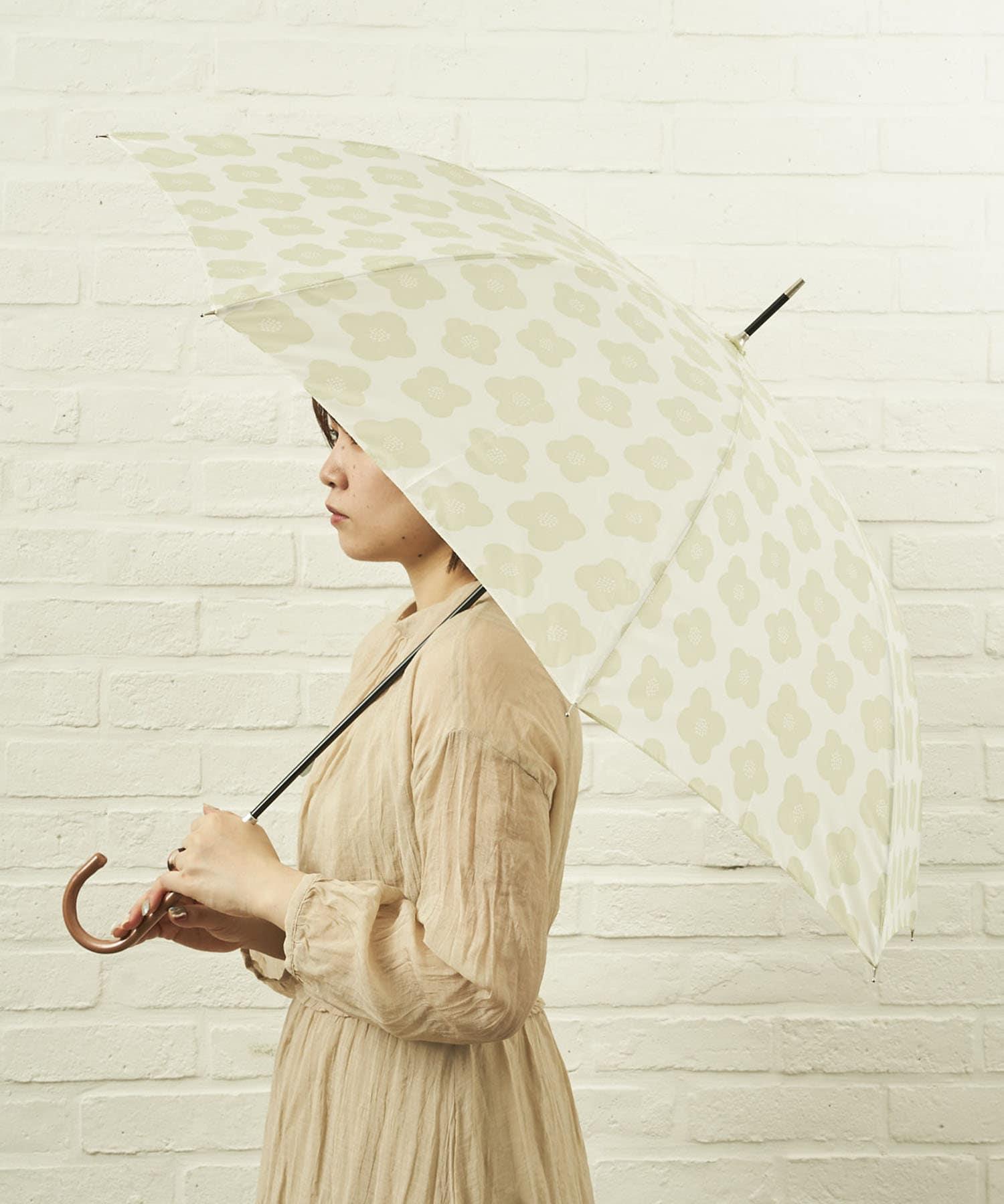 salut!(サリュ) ライフスタイル 雨傘長おはな(イエロー) その他